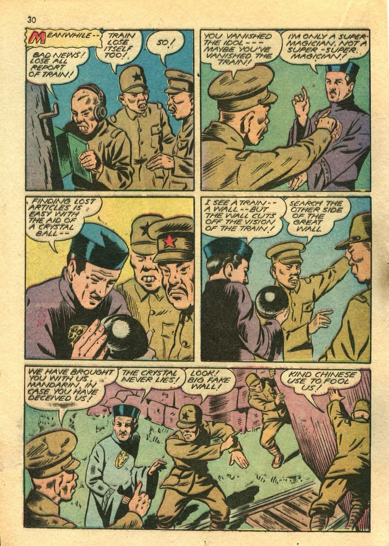 Read online Super-Magician Comics comic -  Issue #14 - 30