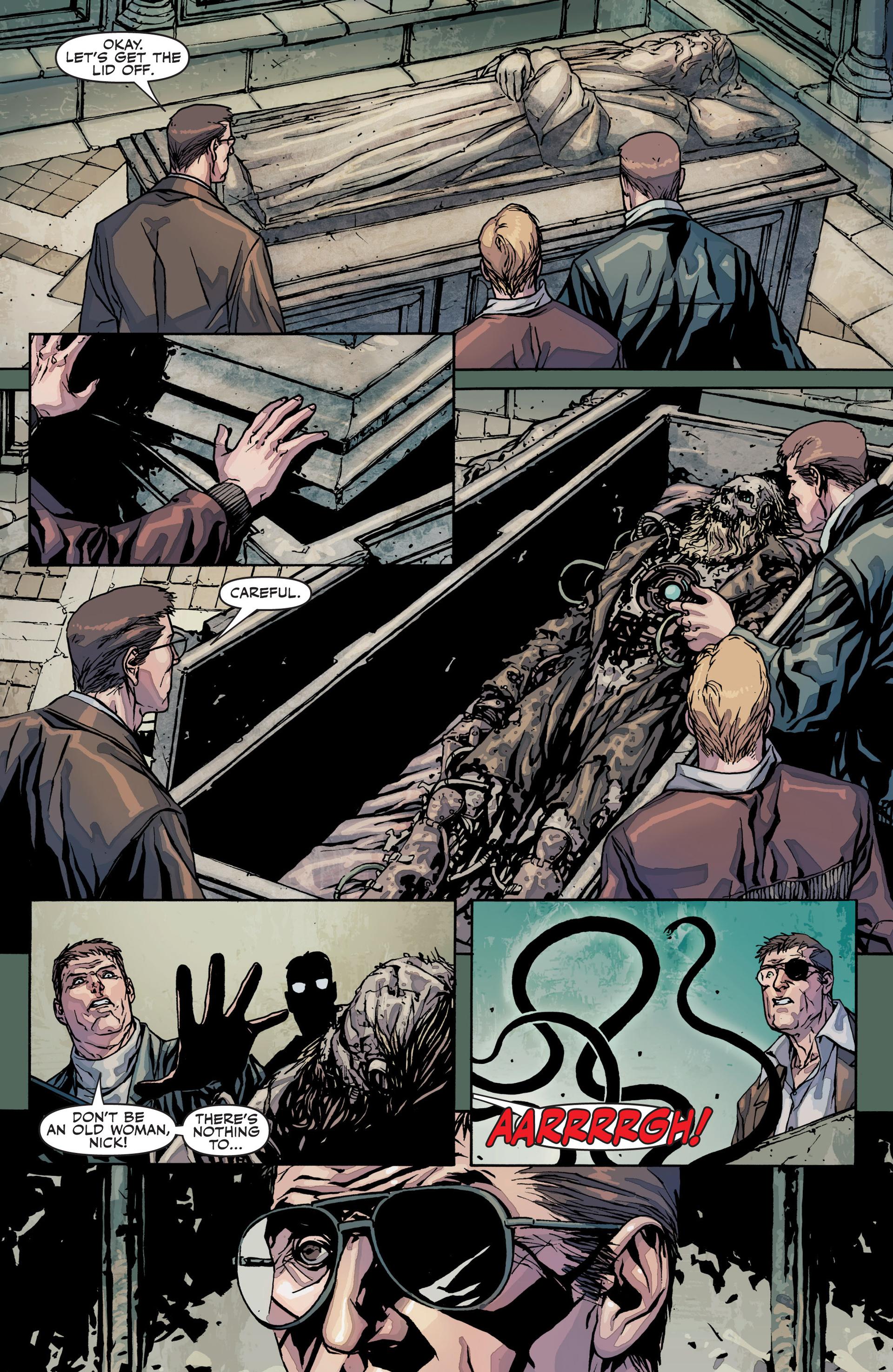 Read online Secret Warriors comic -  Issue #25 - 16