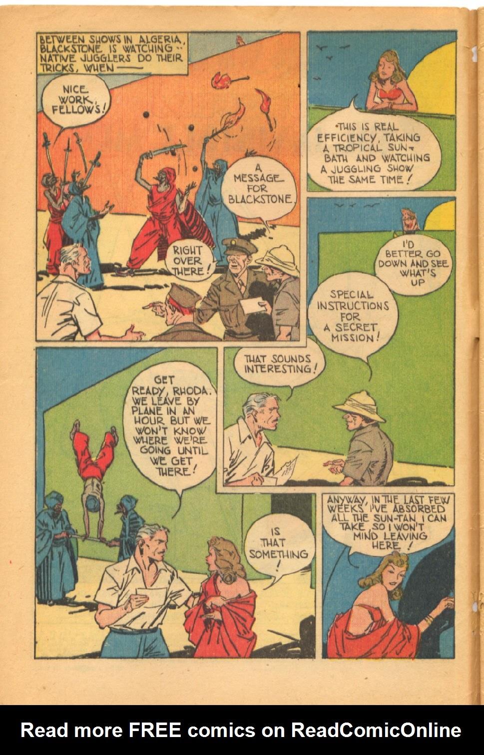 Read online Super-Magician Comics comic -  Issue #38 - 4