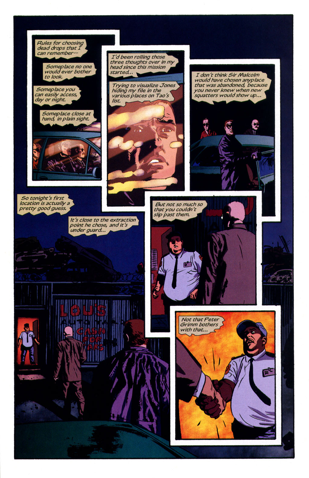 Read online Sleeper comic -  Issue #9 - 16