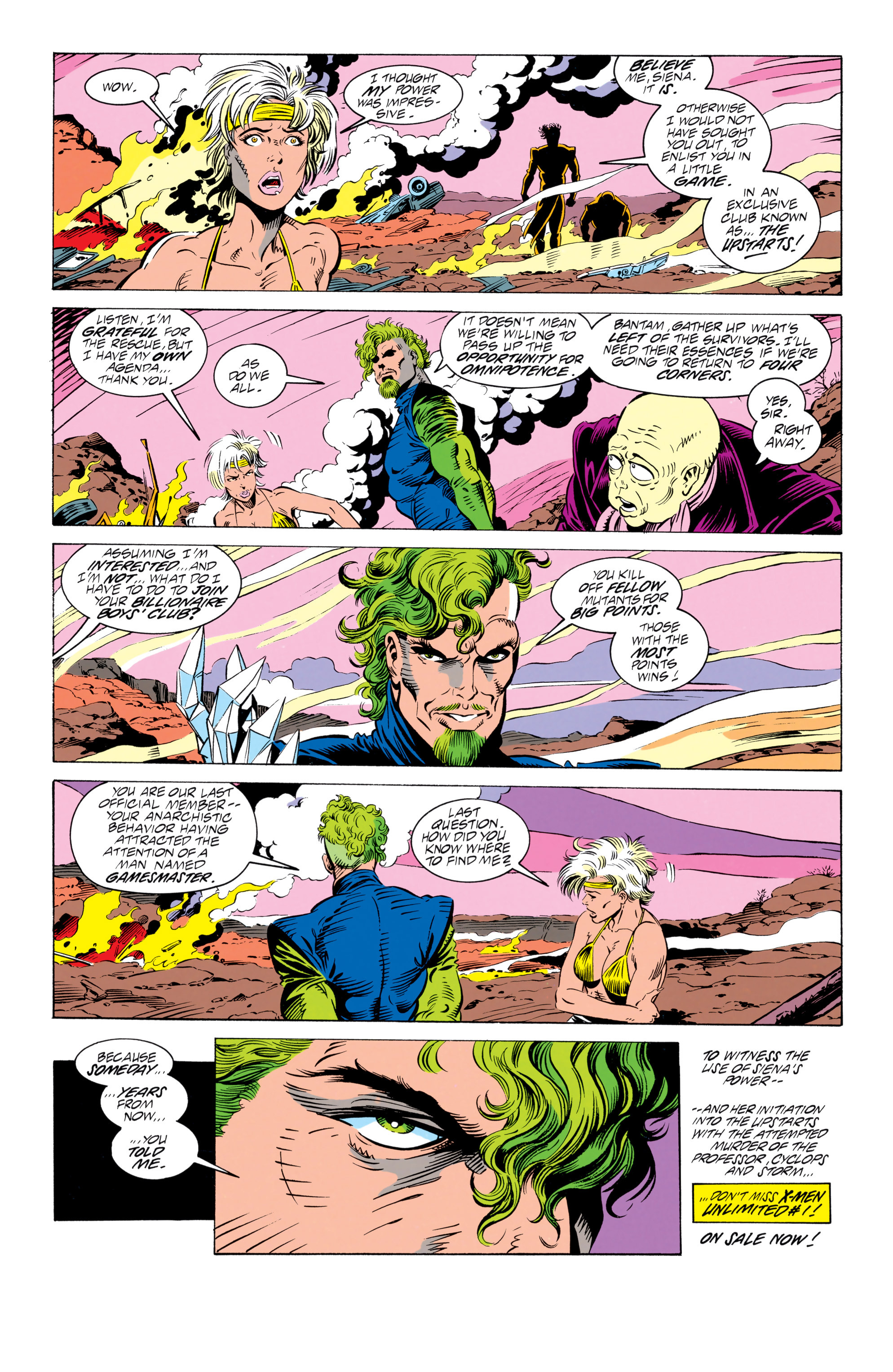 Read online Uncanny X-Men (1963) comic -  Issue # _Annual 17 - 54
