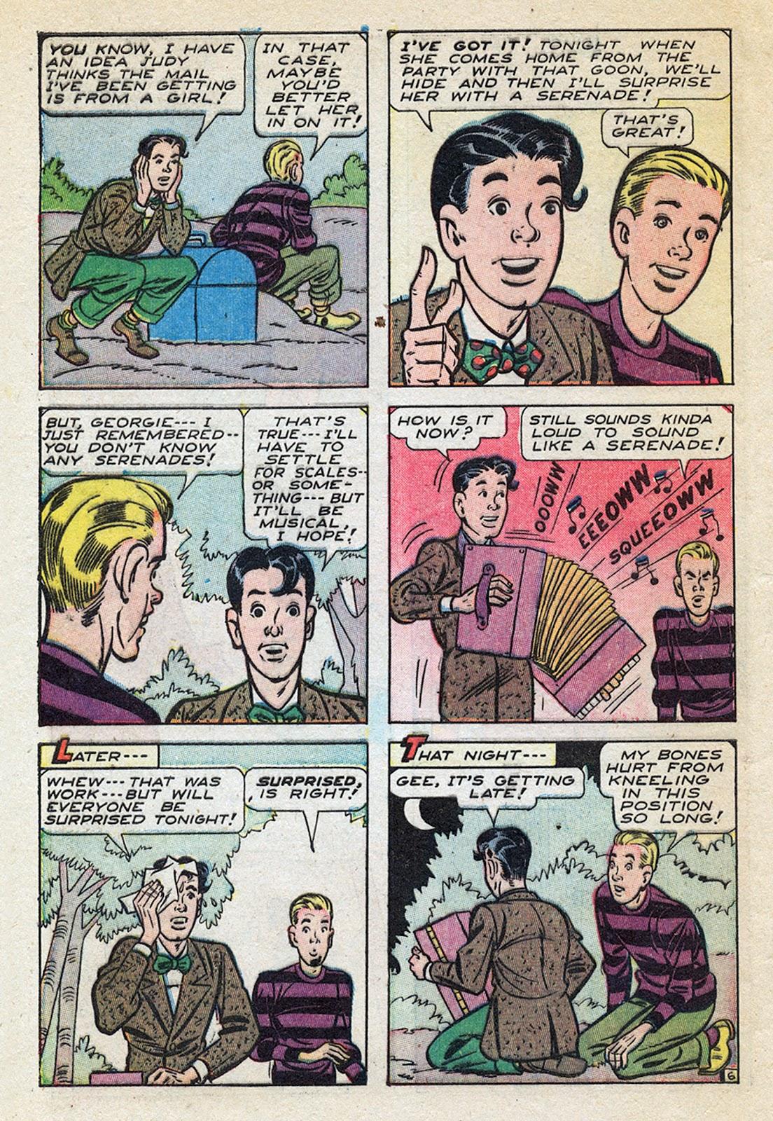 Georgie Comics (1945) issue 4 - Page 40