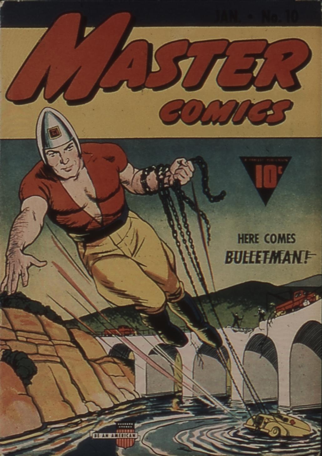 Master Comics 10 Page 1
