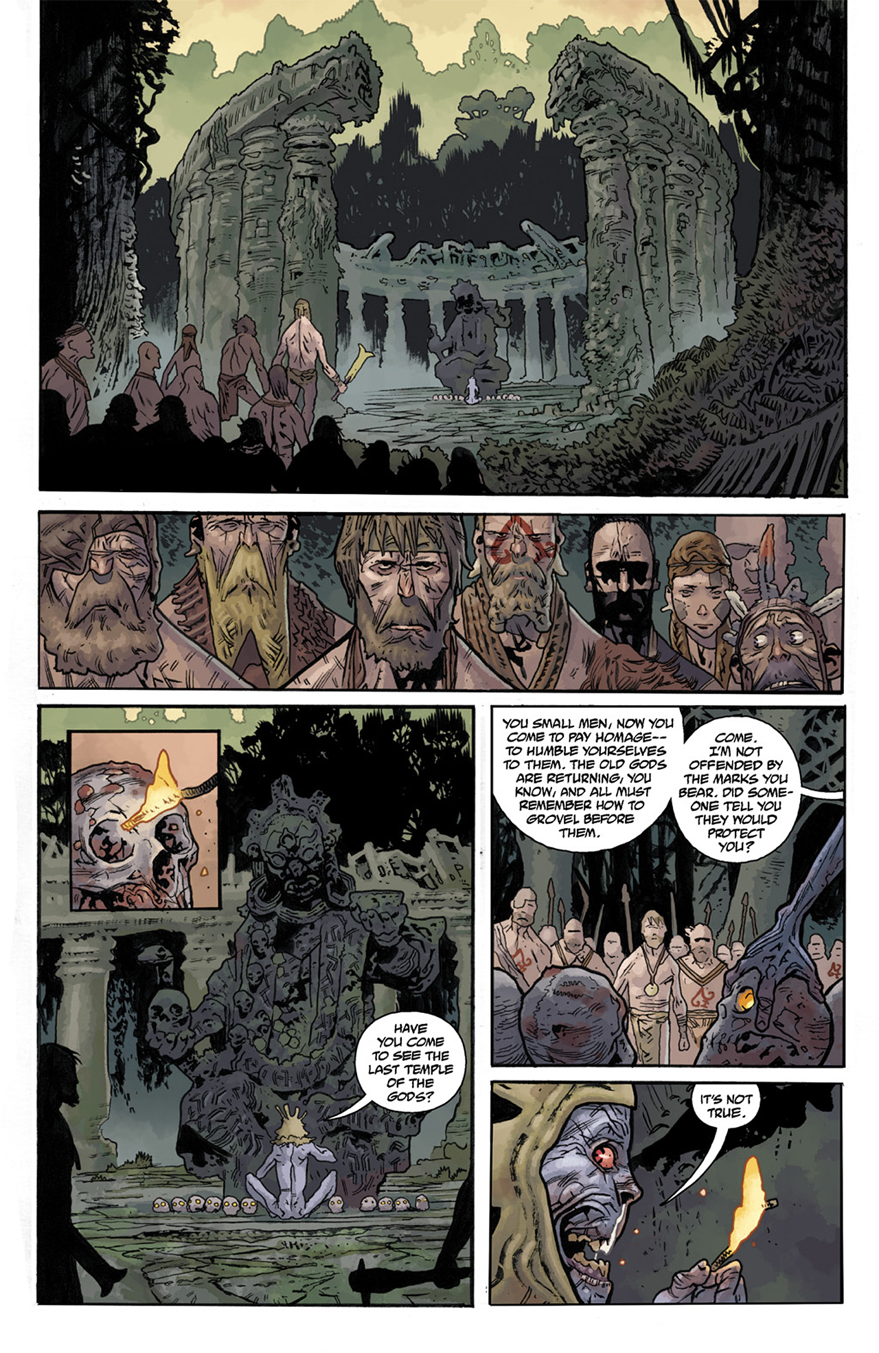 Read online B.P.R.D. Hell on Earth: The Abyss of Time comic -  Issue #104 - 8