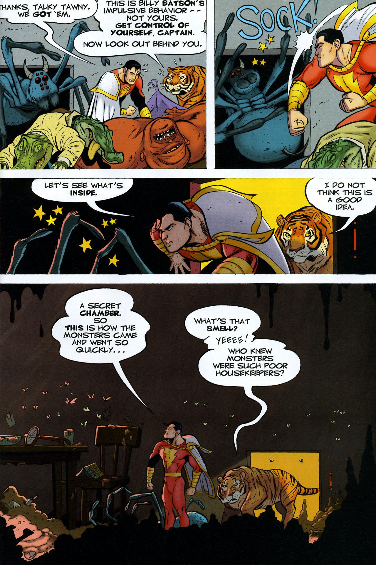 Read online Shazam!: The Monster Society of Evil comic -  Issue #4 - 5