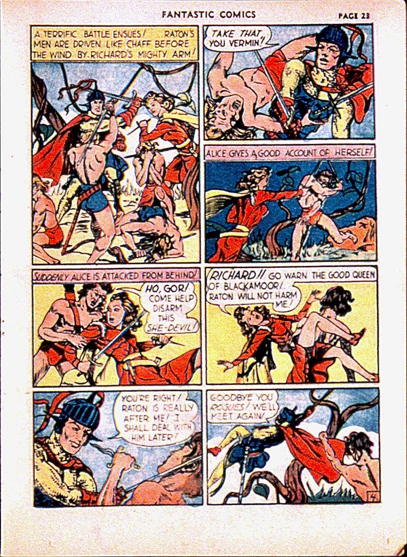 Read online Fantastic Comics comic -  Issue #13 - 26