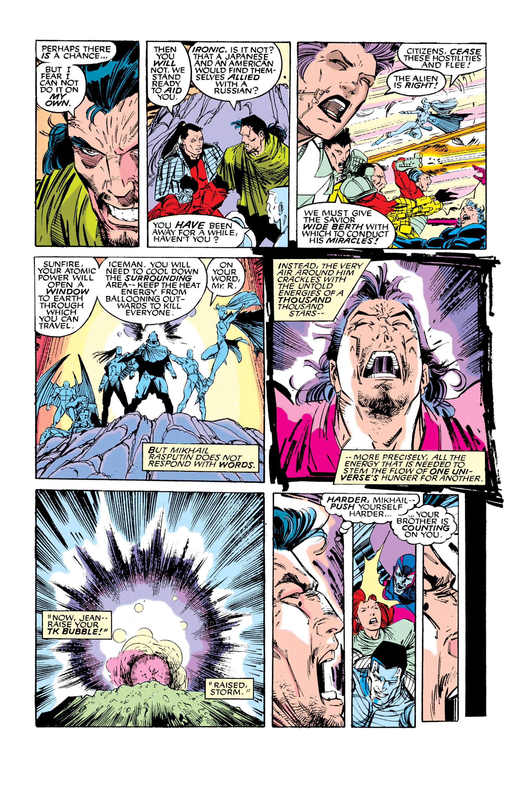 Read online Uncanny X-Men (1963) comic -  Issue #286 - 19