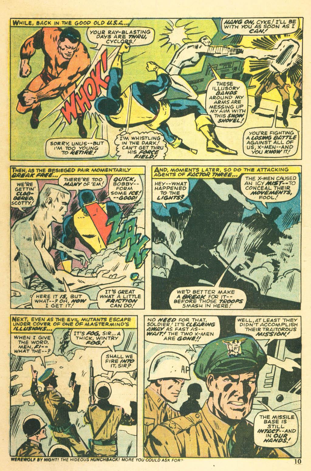 Read online Uncanny X-Men (1963) comic -  Issue #87 - 12