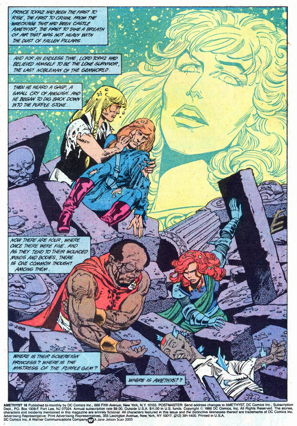 Read online Amethyst (1985) comic -  Issue #16 - 3
