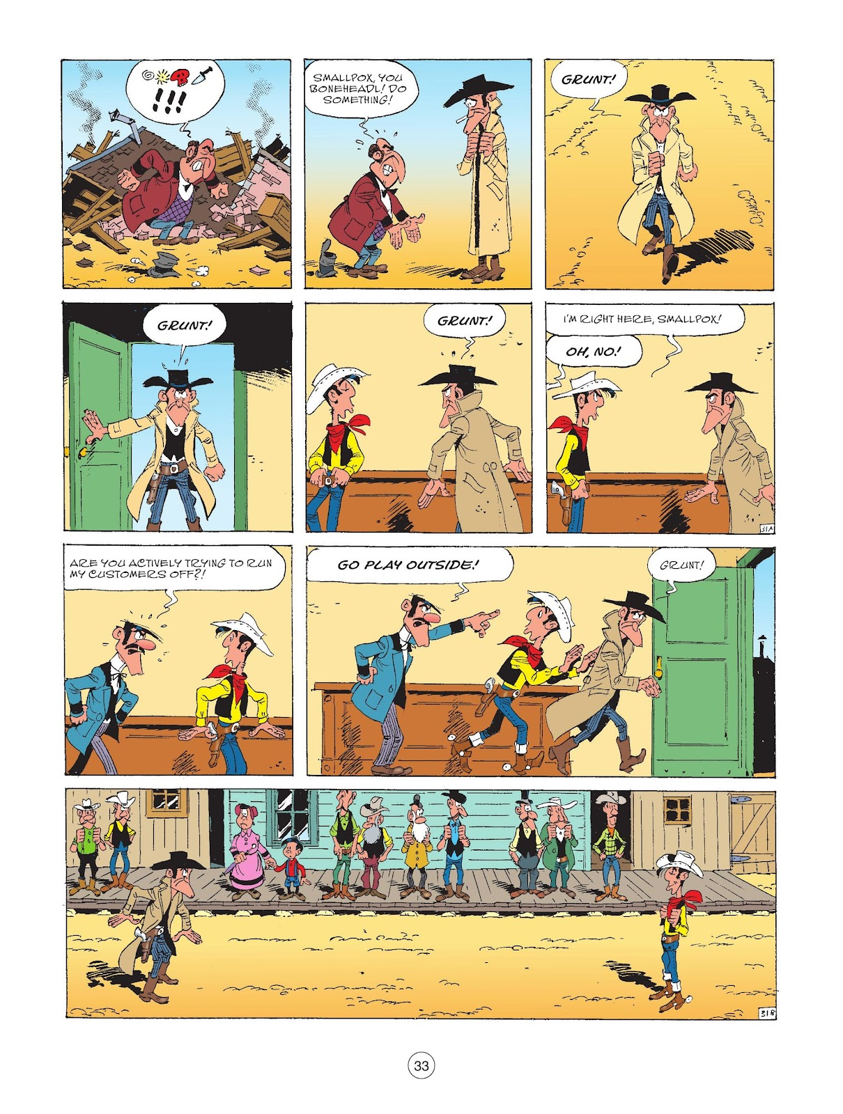 A Lucky Luke Adventure issue 72 - Page 35
