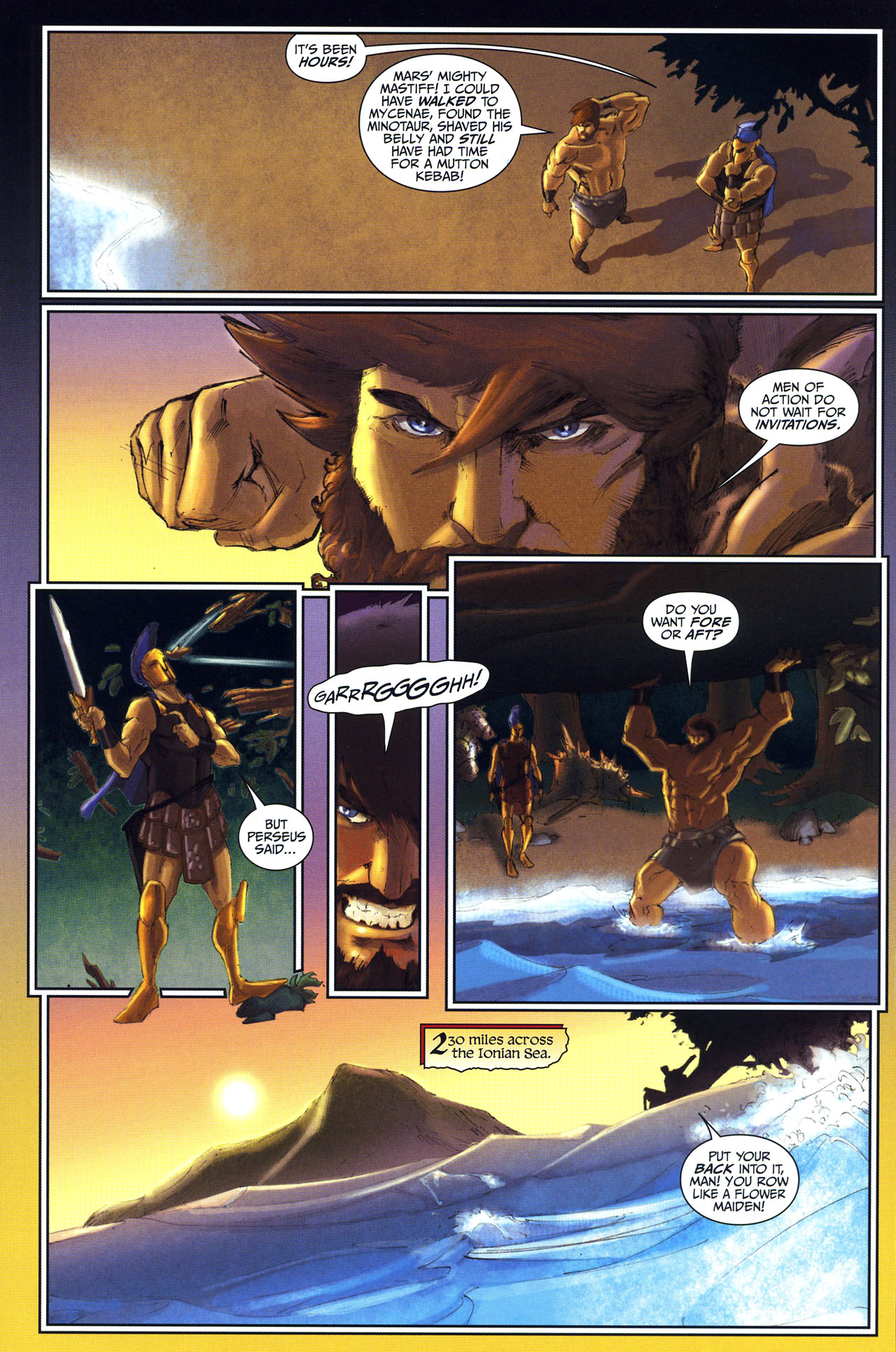 Read online Wrath of the Titans comic -  Issue #2 - 21