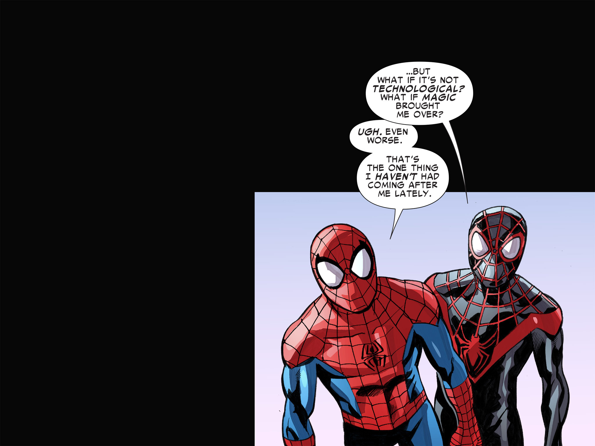 Read online Ultimate Spider-Man (Infinite Comics) (2016) comic -  Issue #8 - 27