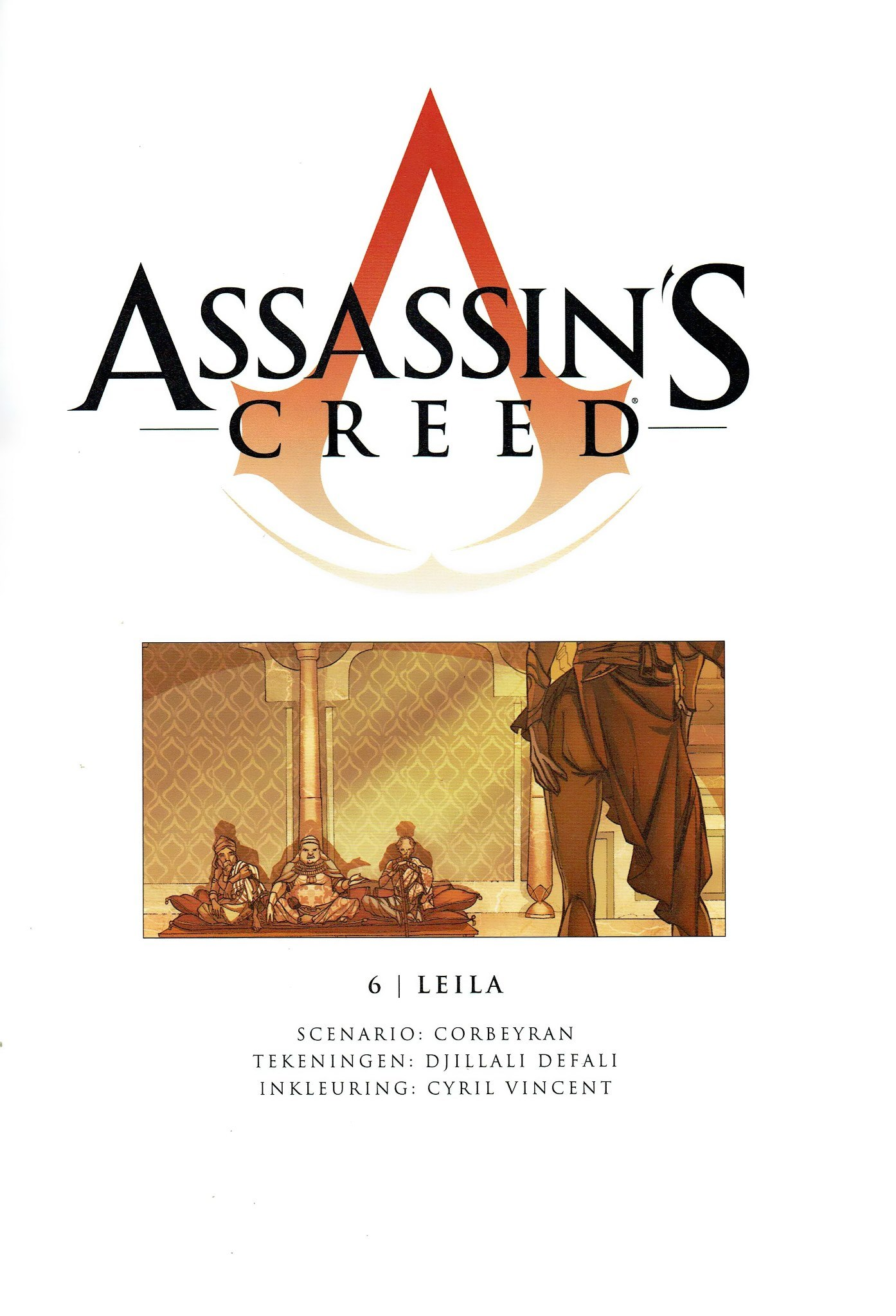 Read online Assassin's Creed (2009) comic -  Issue #6 - 2