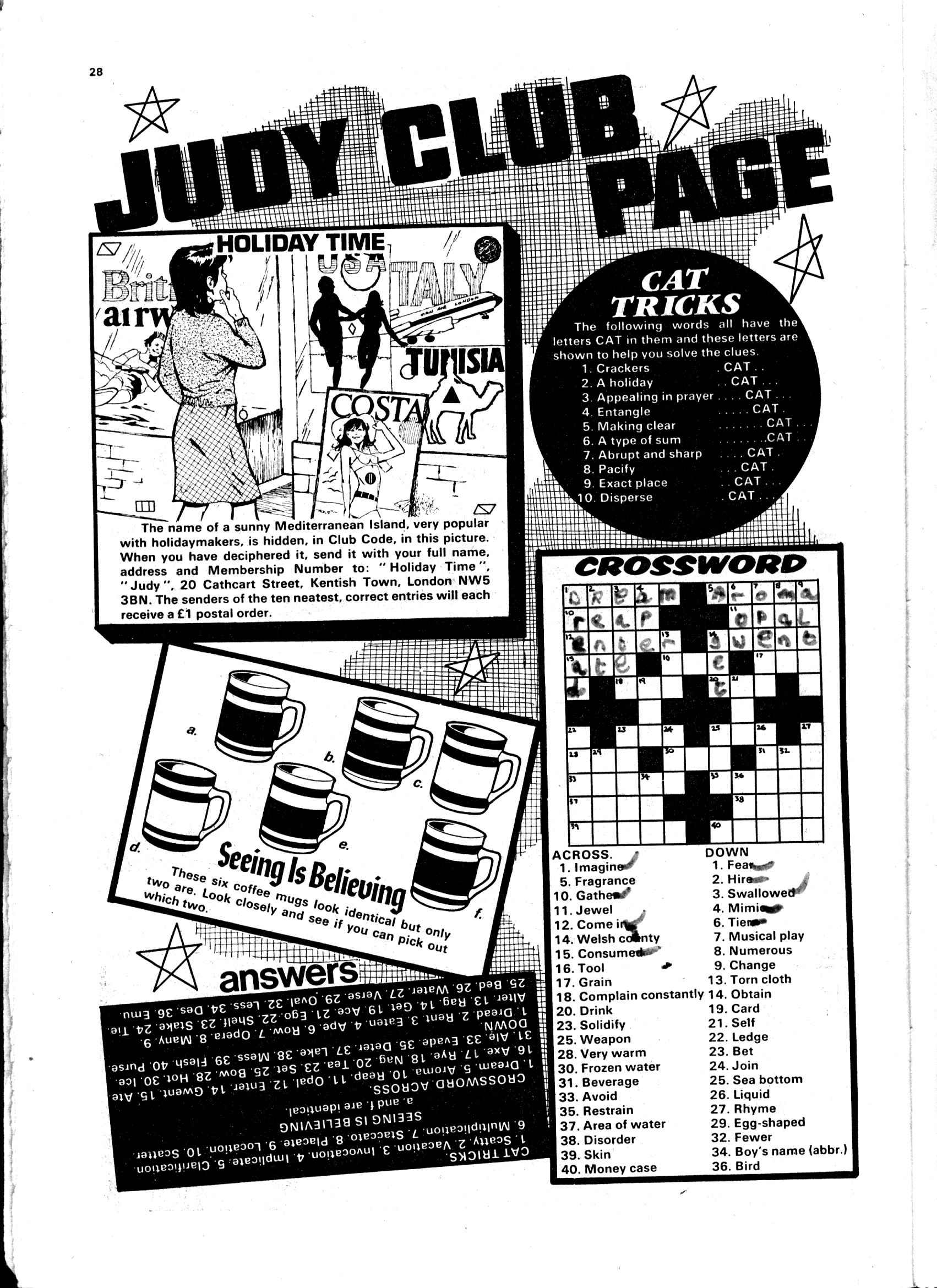 Read online Judy comic -  Issue #8 - 28