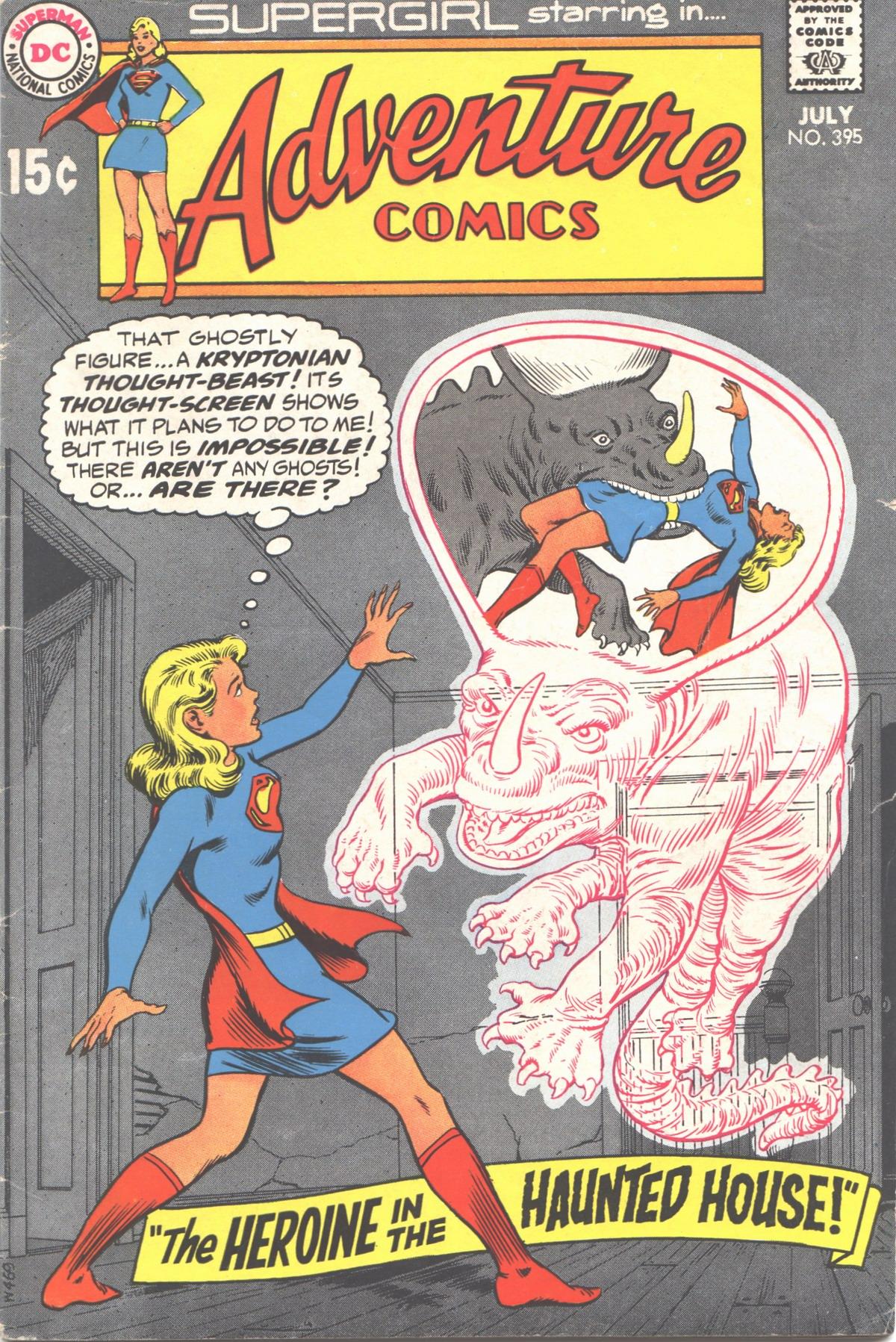 Read online Adventure Comics (1938) comic -  Issue #395 - 1