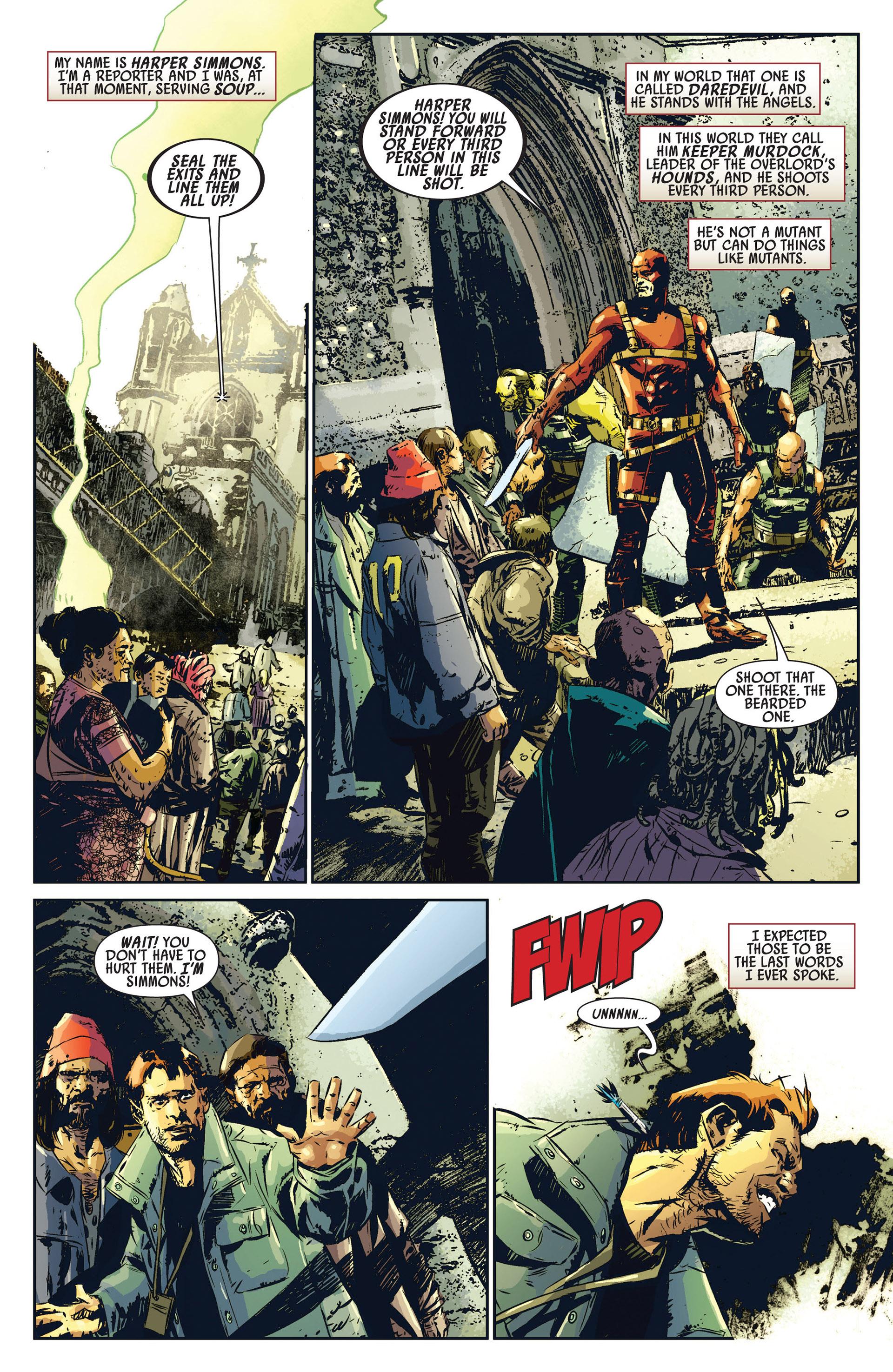 Read online Age of Apocalypse (2012) comic -  Issue #1 - 14