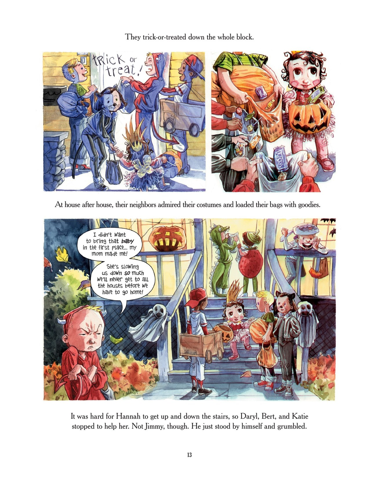 Read online Scary Godmother comic -  Issue # TPB - 13