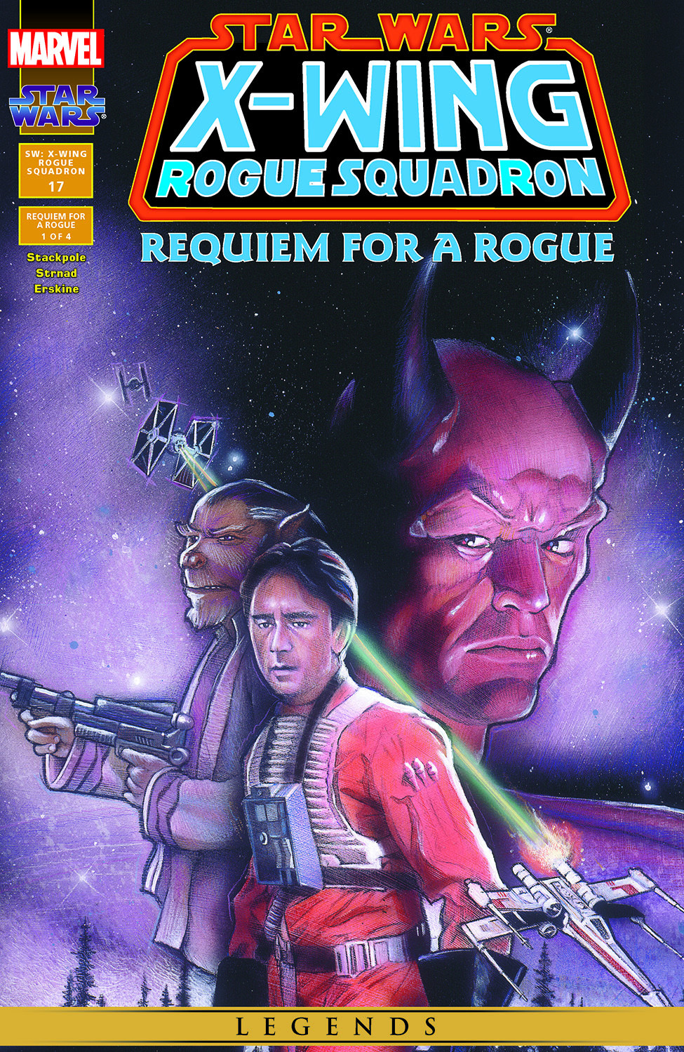 Star Wars: X-Wing Rogue Squadron issue 17 - Page 1