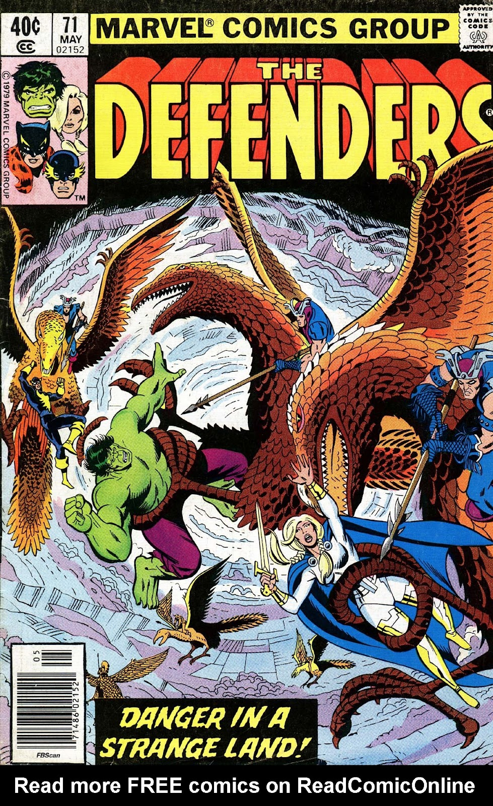 The Defenders (1972) 71 Page 1
