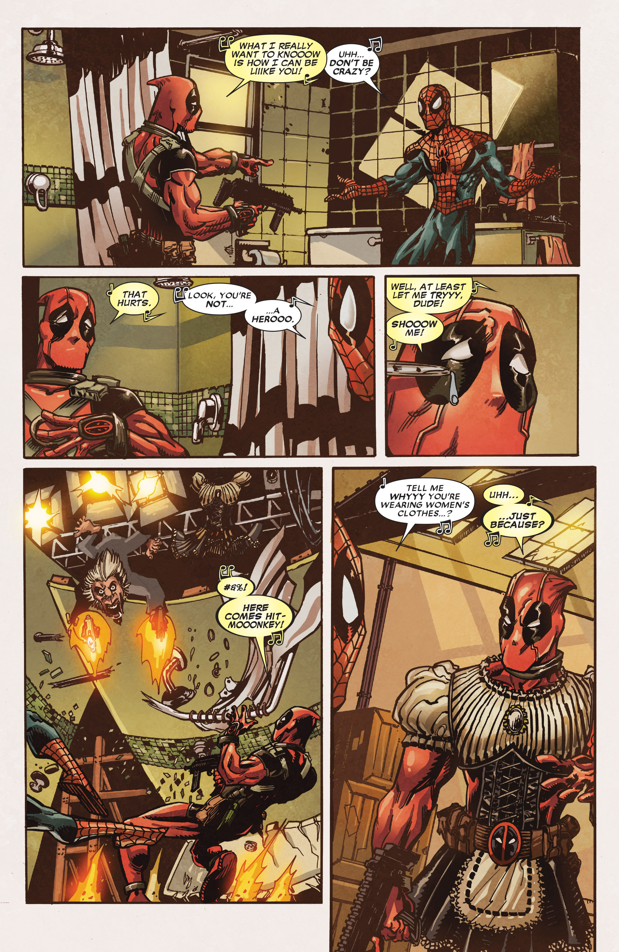 Read online True Believers: Deadpool the Musical comic -  Issue # Full - 15
