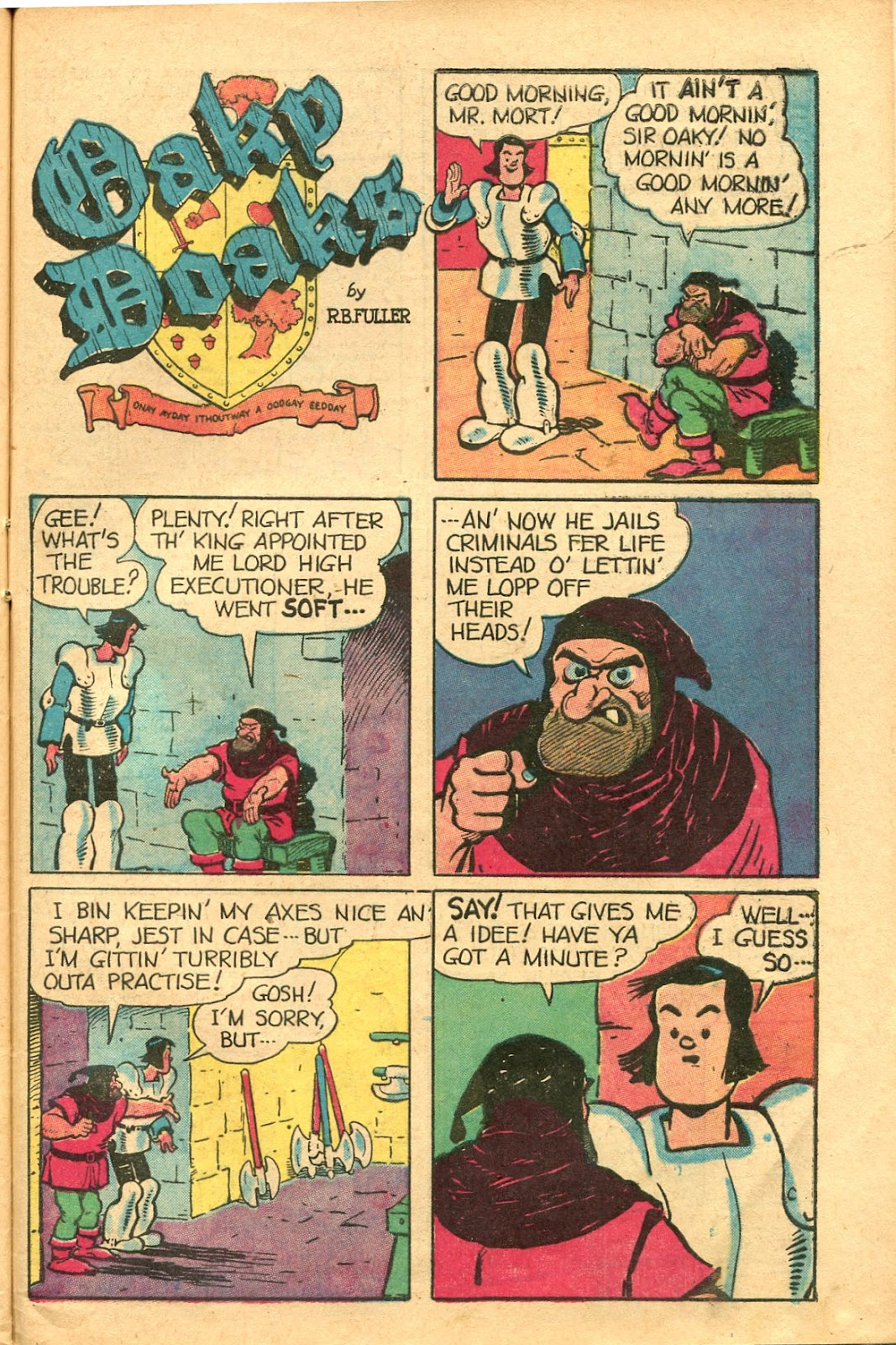 Read online Famous Funnies comic -  Issue #154 - 43