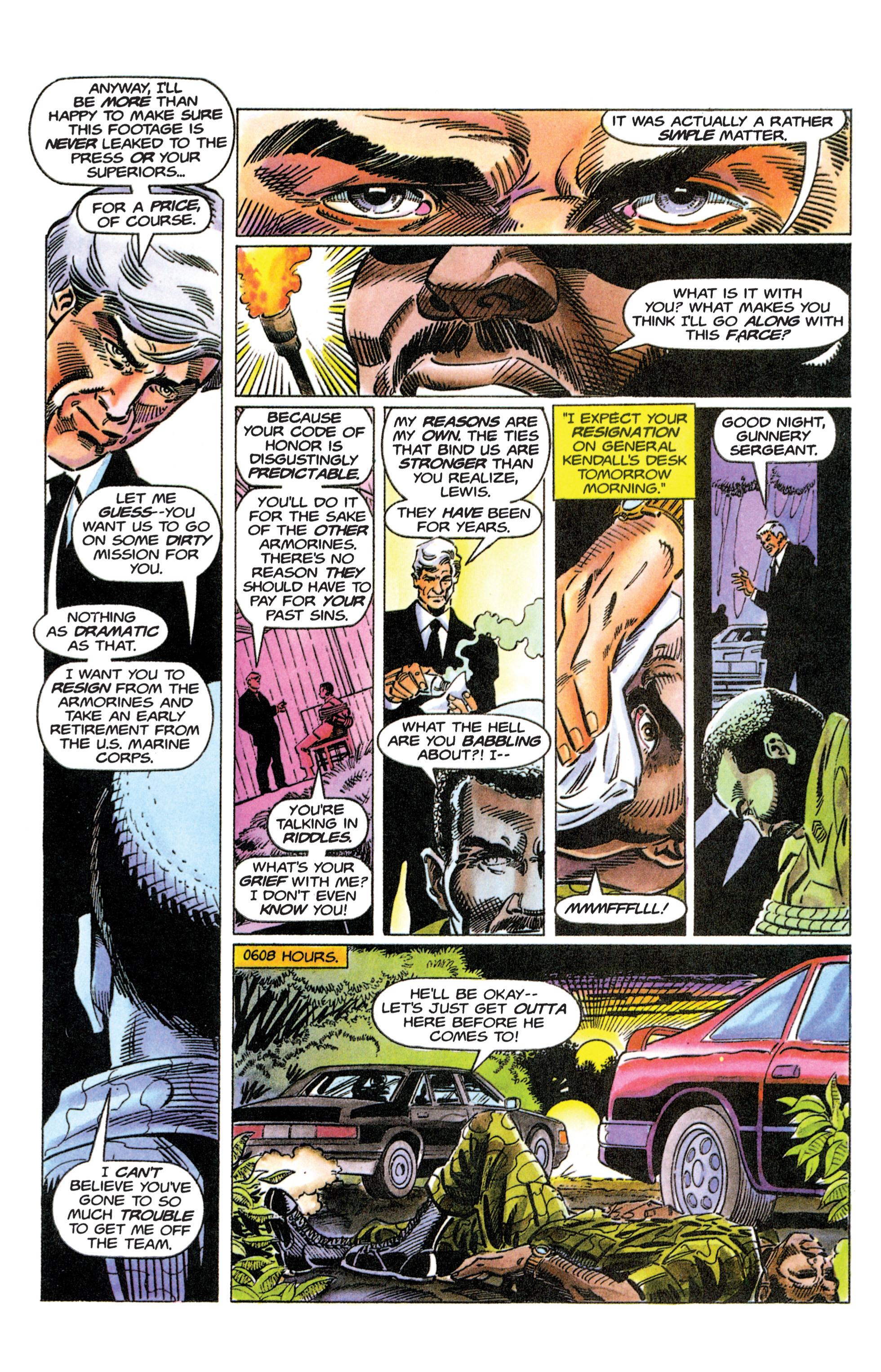 Read online Armorines comic -  Issue #12 - 9