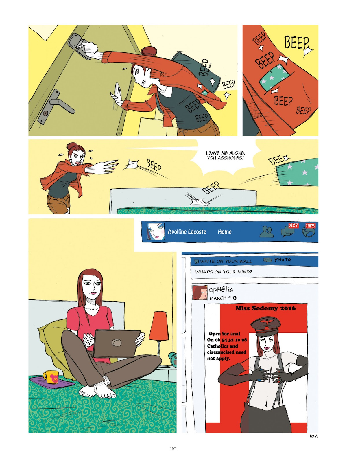 Read online Diary of A Femen comic -  Issue # TPB - 112