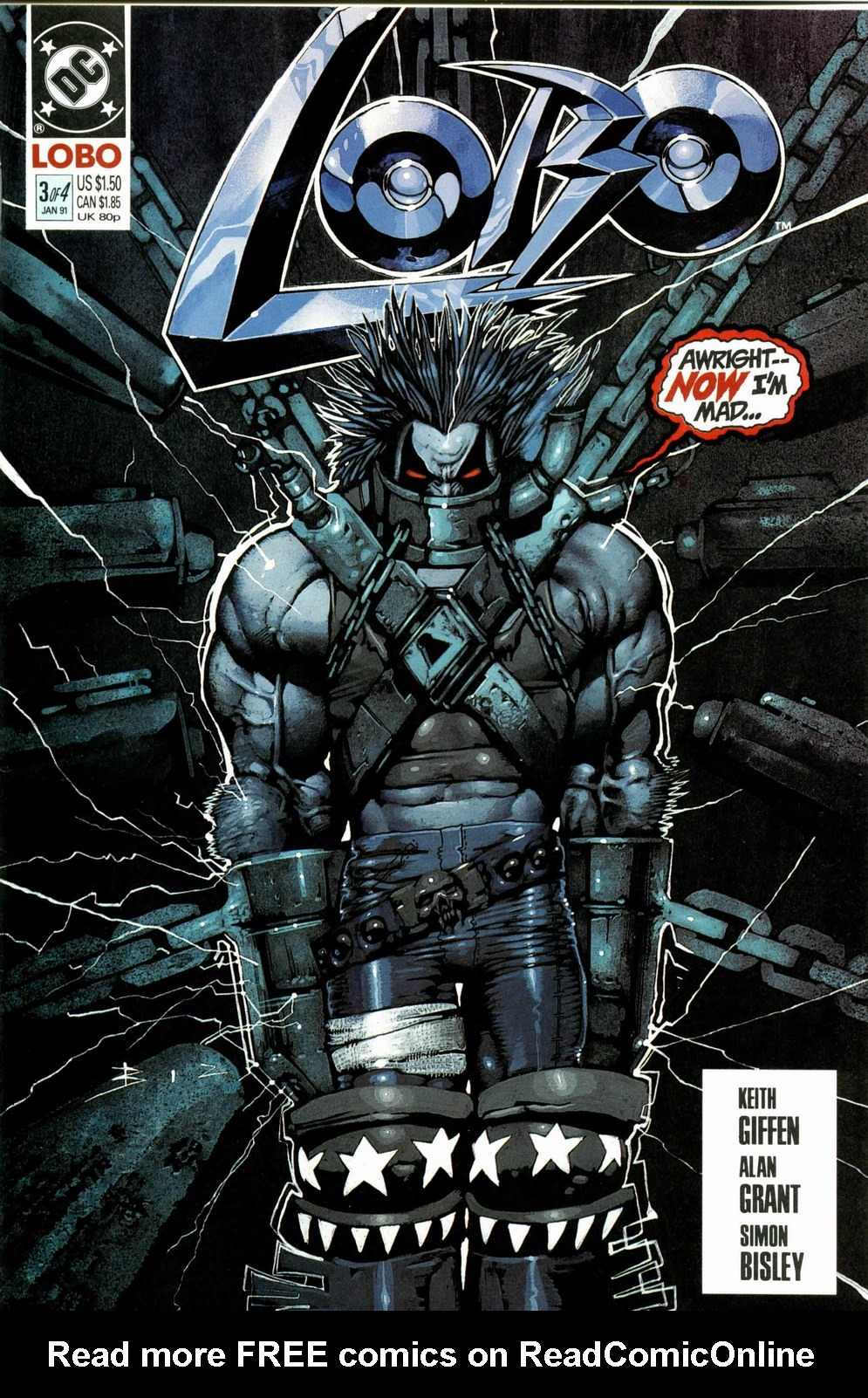 Read online Lobo (1990) comic -  Issue #3 - 1