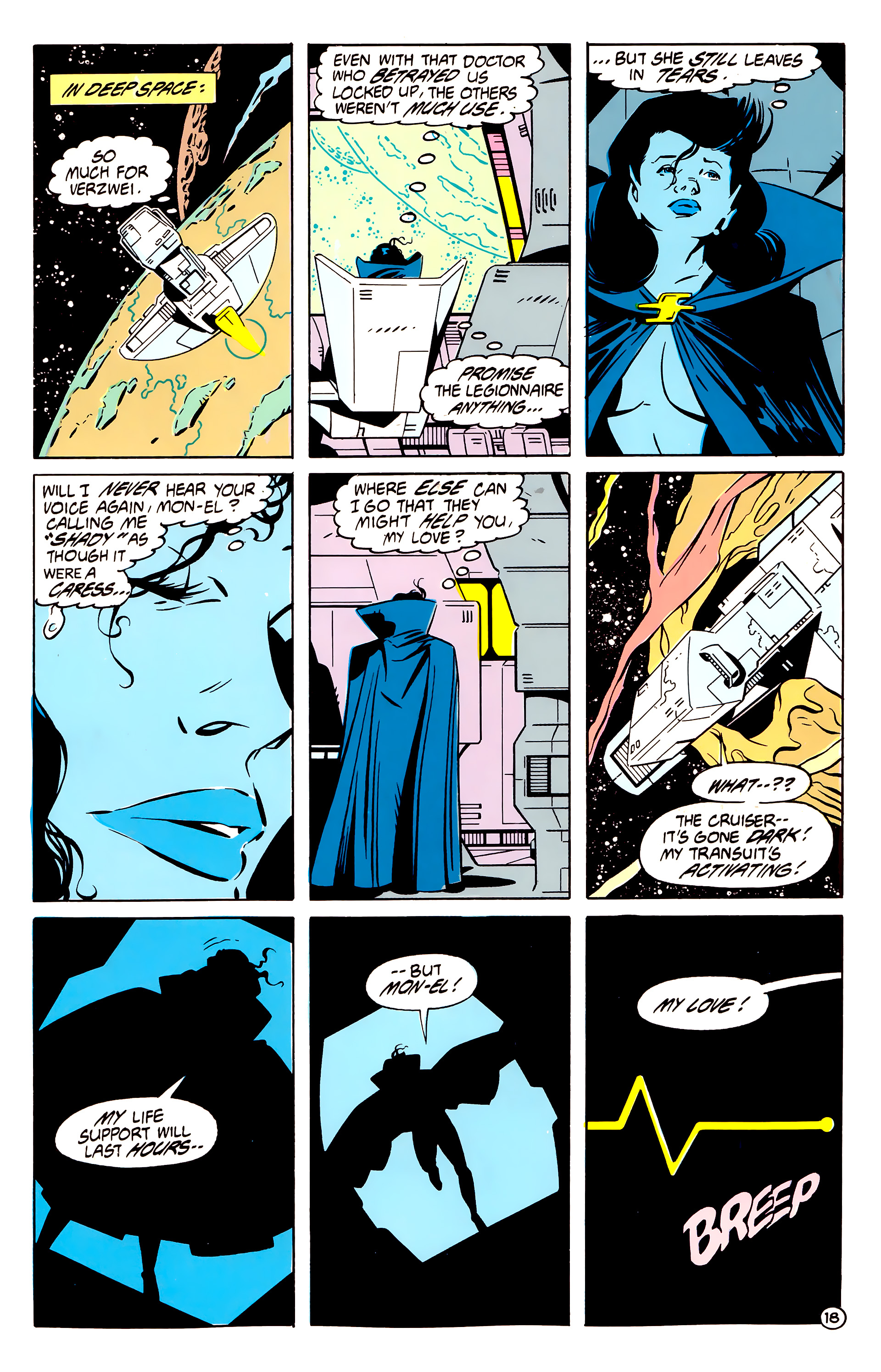 Legion of Super-Heroes (1984) 61 Page 18