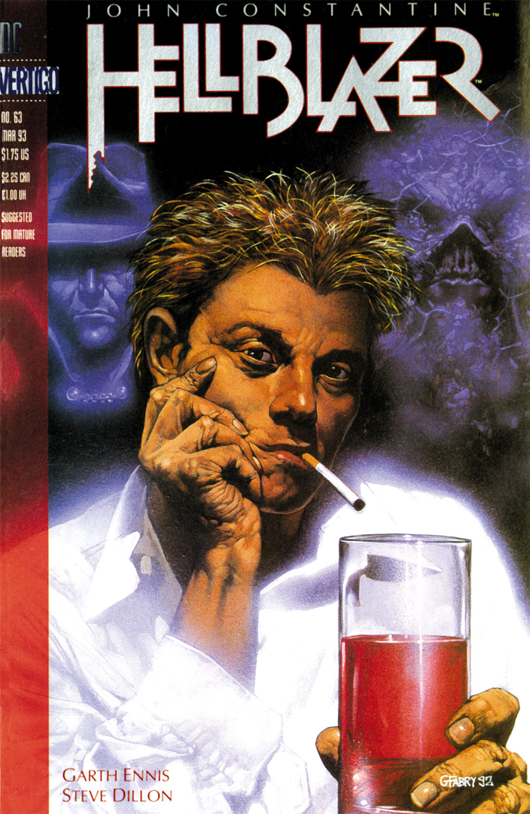 Hellblazer issue 63 - Page 1
