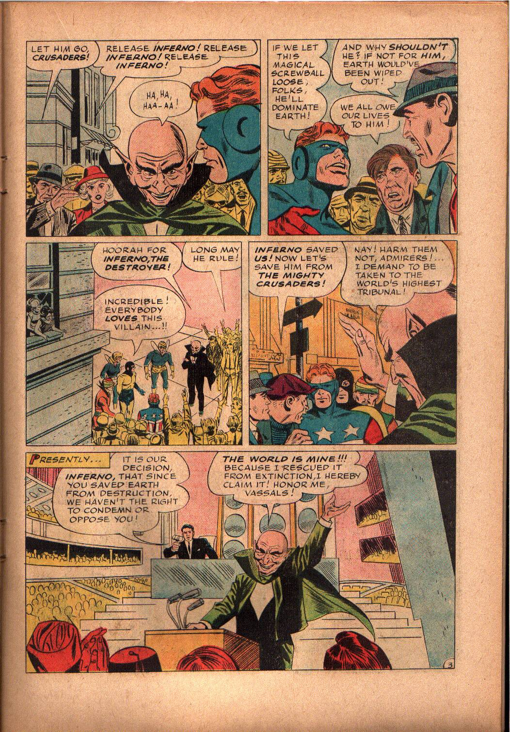 The Mighty Crusaders (1965) Issue #2 #2 - English 12