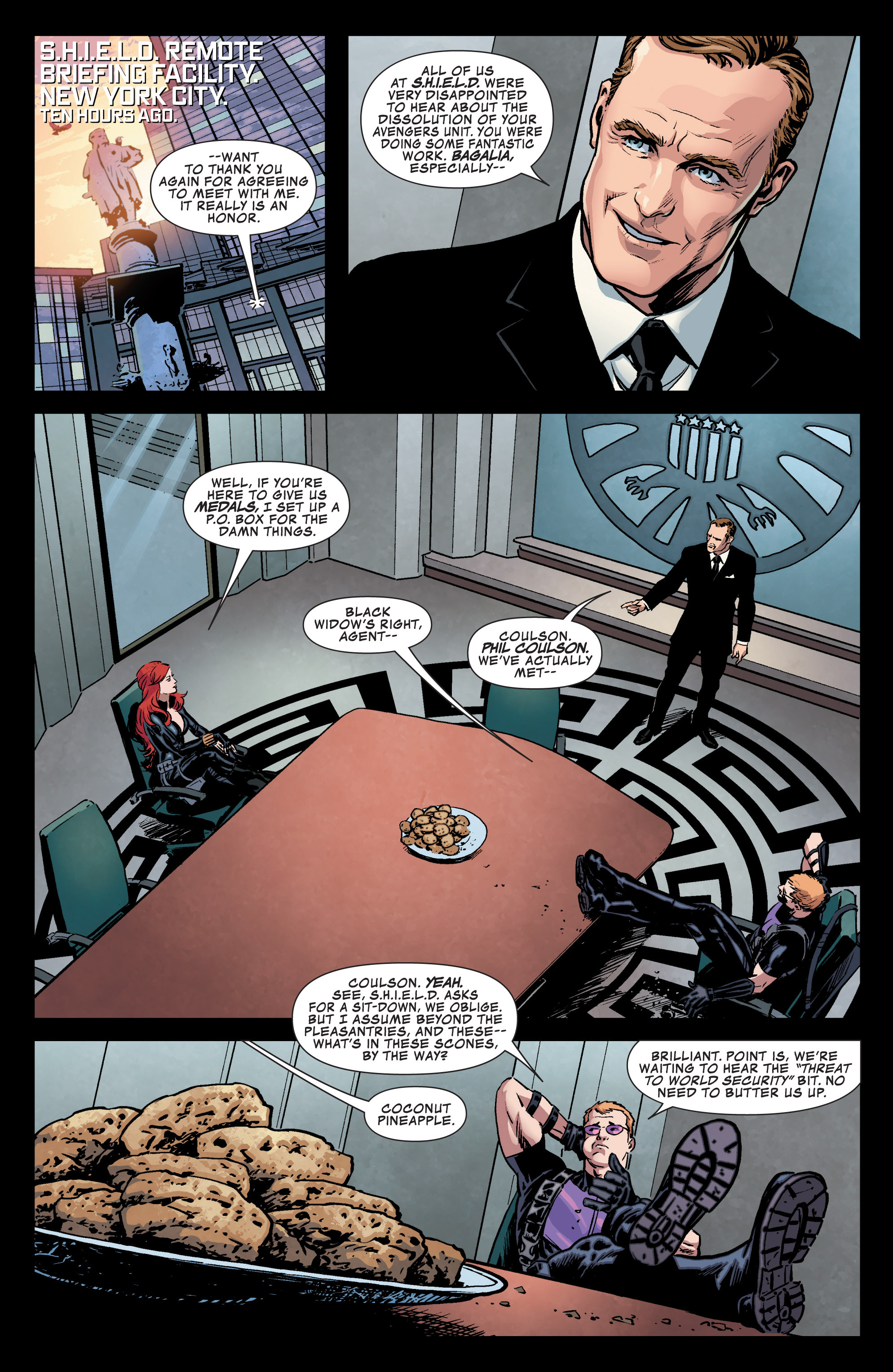 Read online Secret Avengers (2013) comic -  Issue #1 - 9