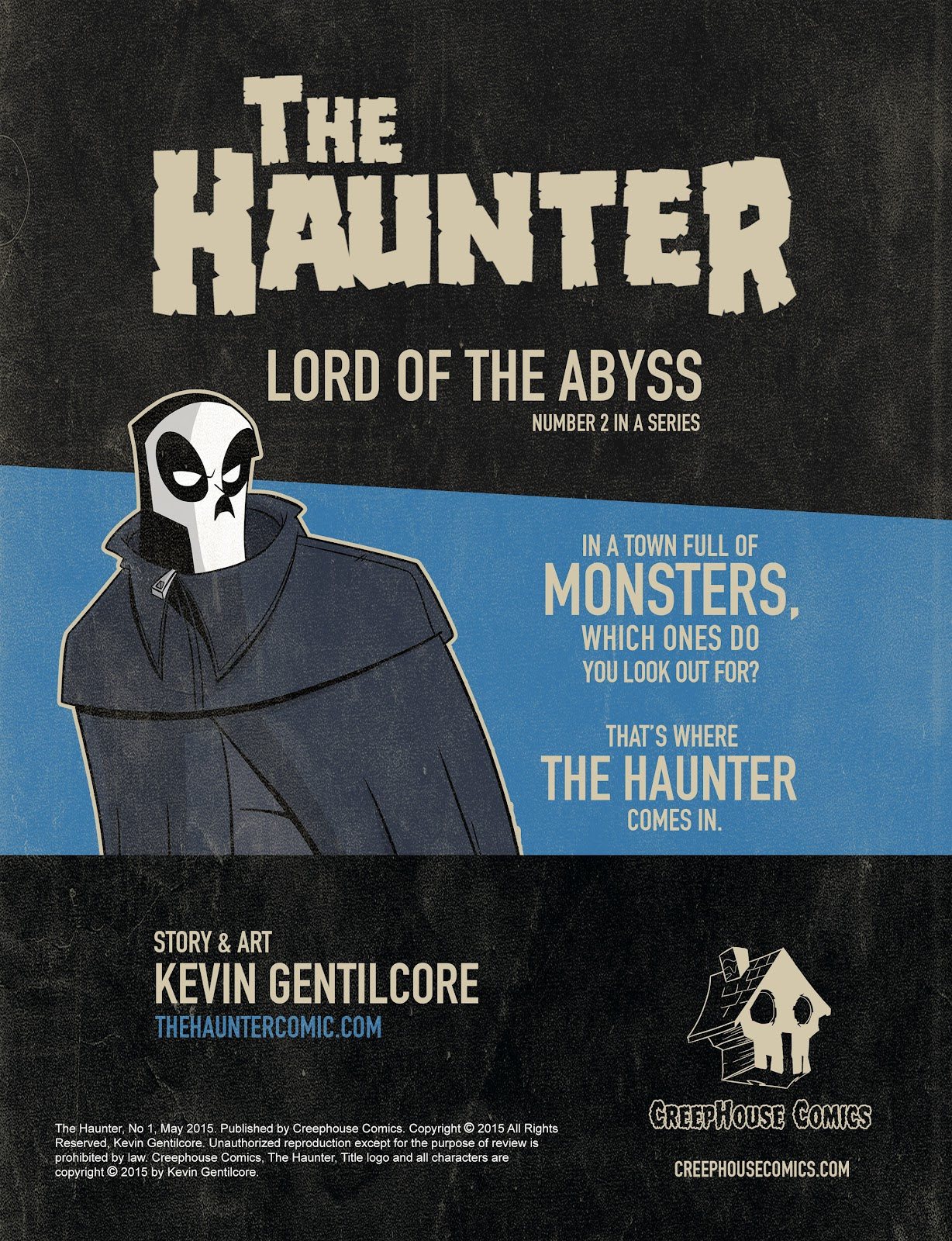 Read online The Haunter comic -  Issue #2 - 2