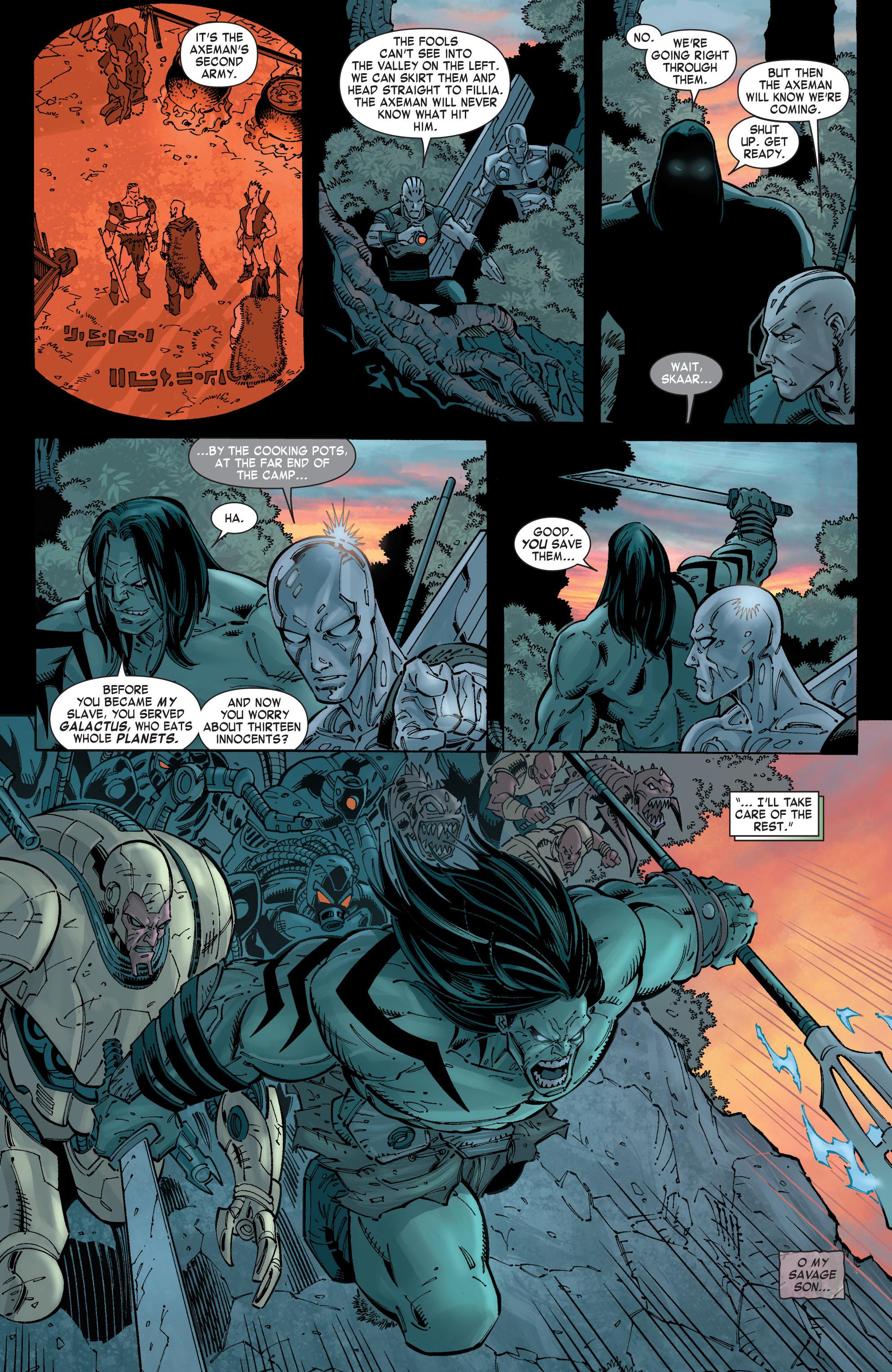 Read online Skaar: Son of Hulk comic -  Issue #8 - 10