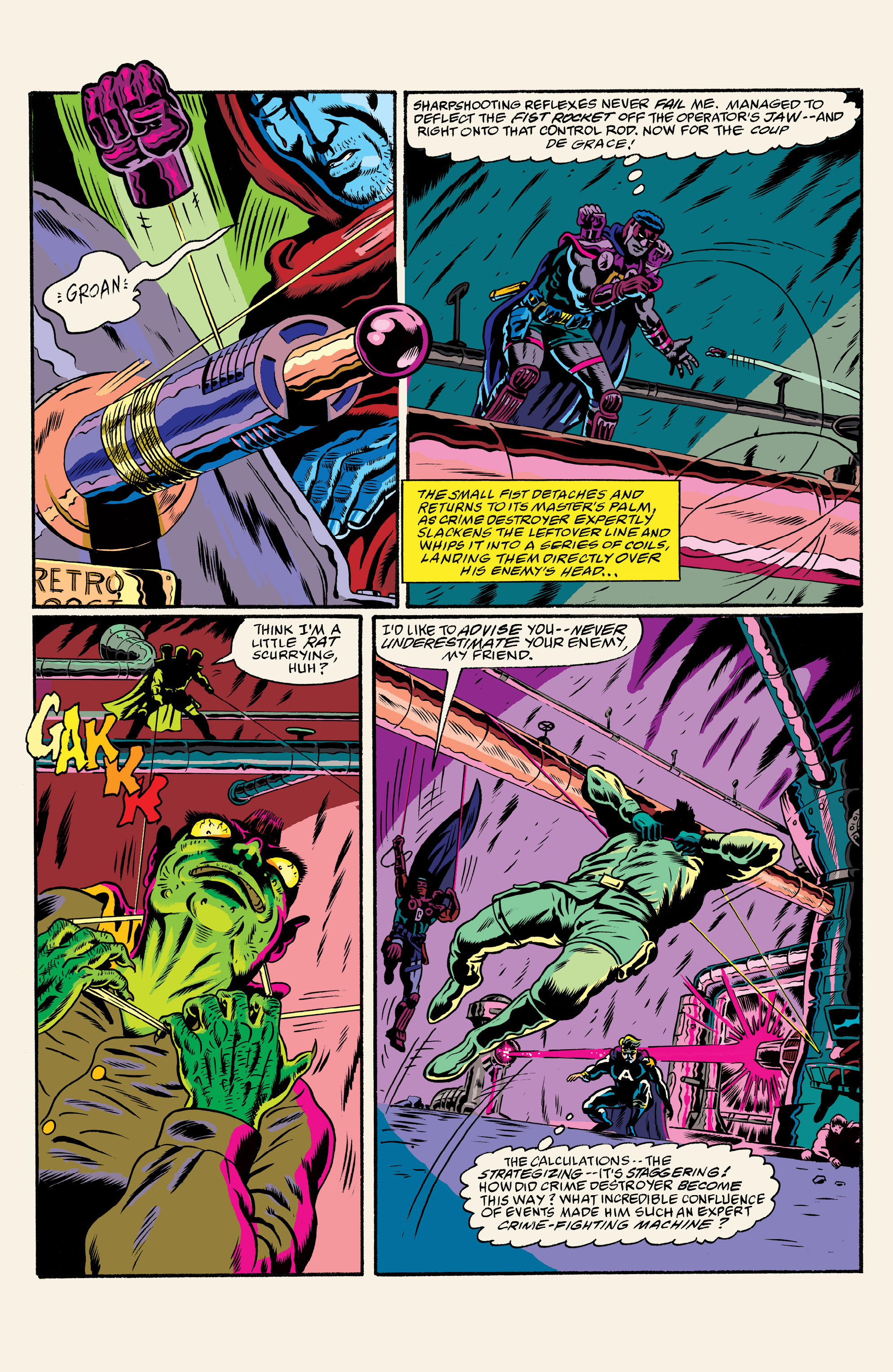Read online All Time Comics: Crime Destroyer comic -  Issue #1 - 26