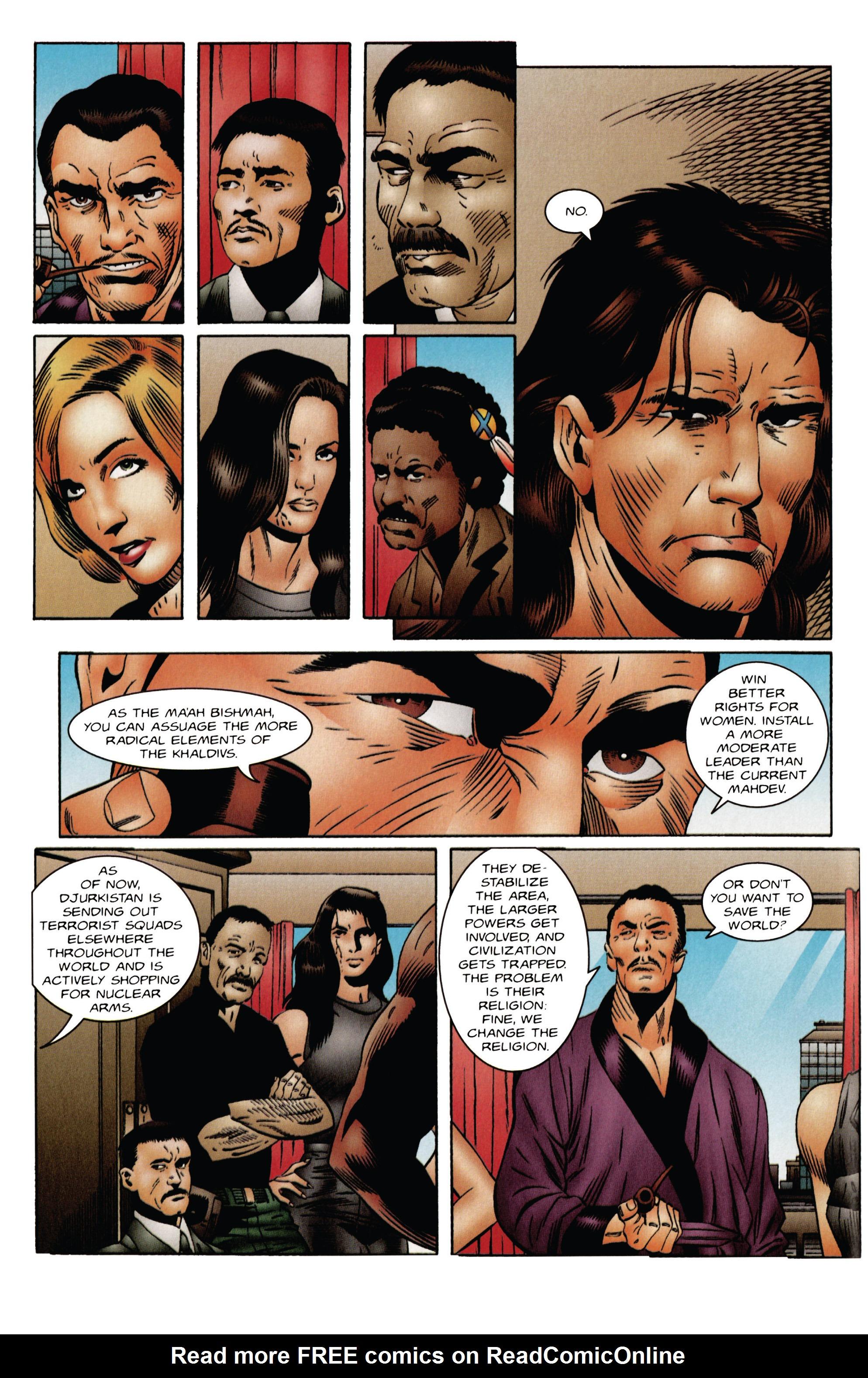 Read online Eternal Warrior (1992) comic -  Issue #47 - 9