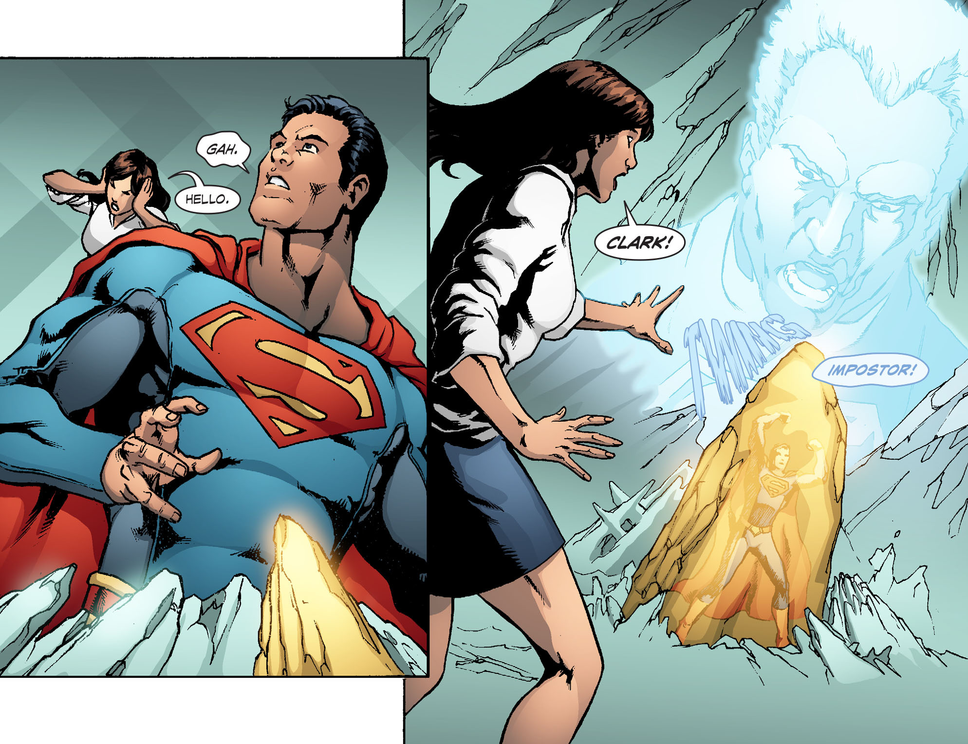 Read online Smallville: Chaos [II] comic -  Issue #5 - 20