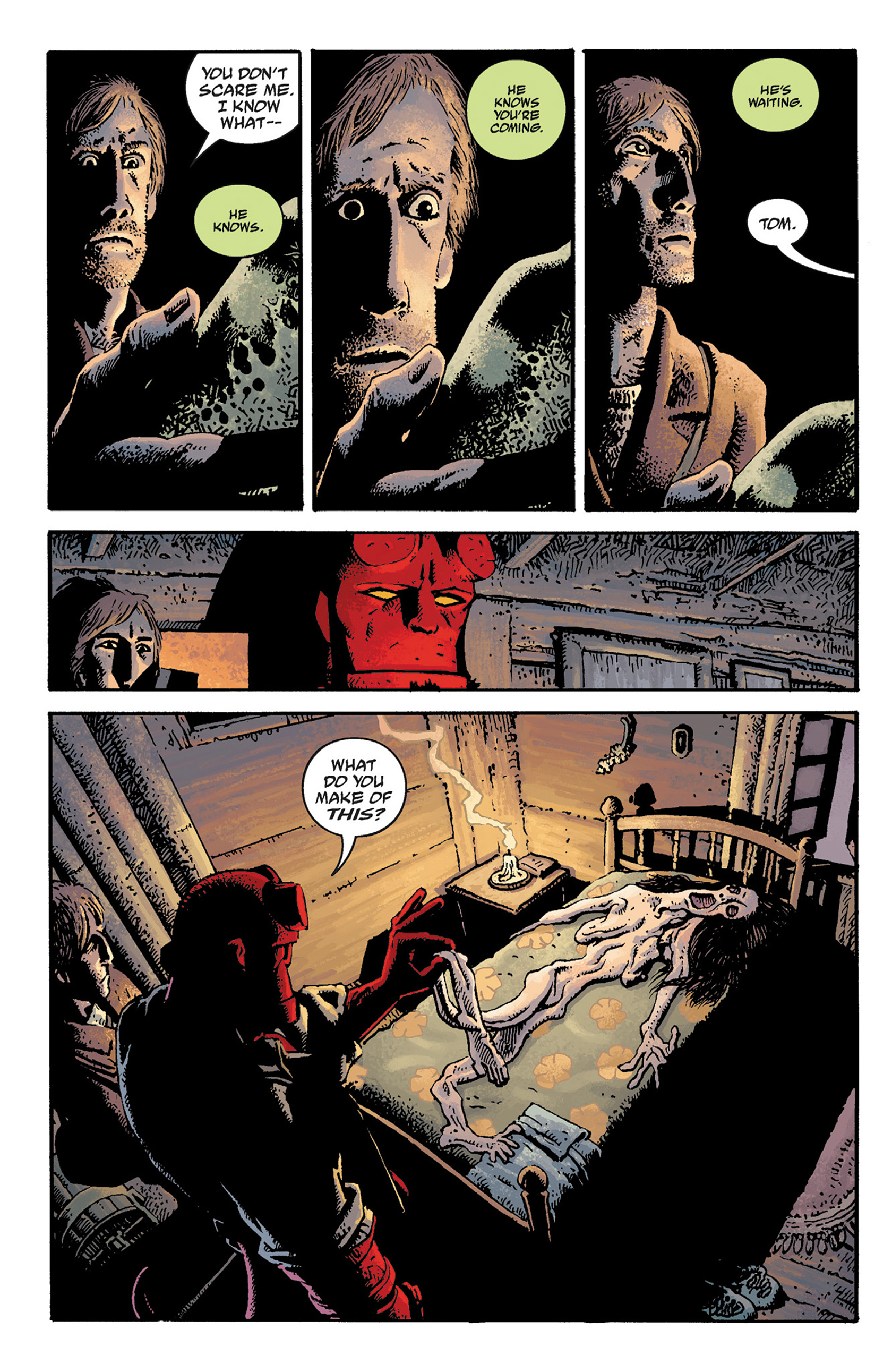 Read online Hellboy: The Crooked Man and Others comic -  Issue # TPB - 18
