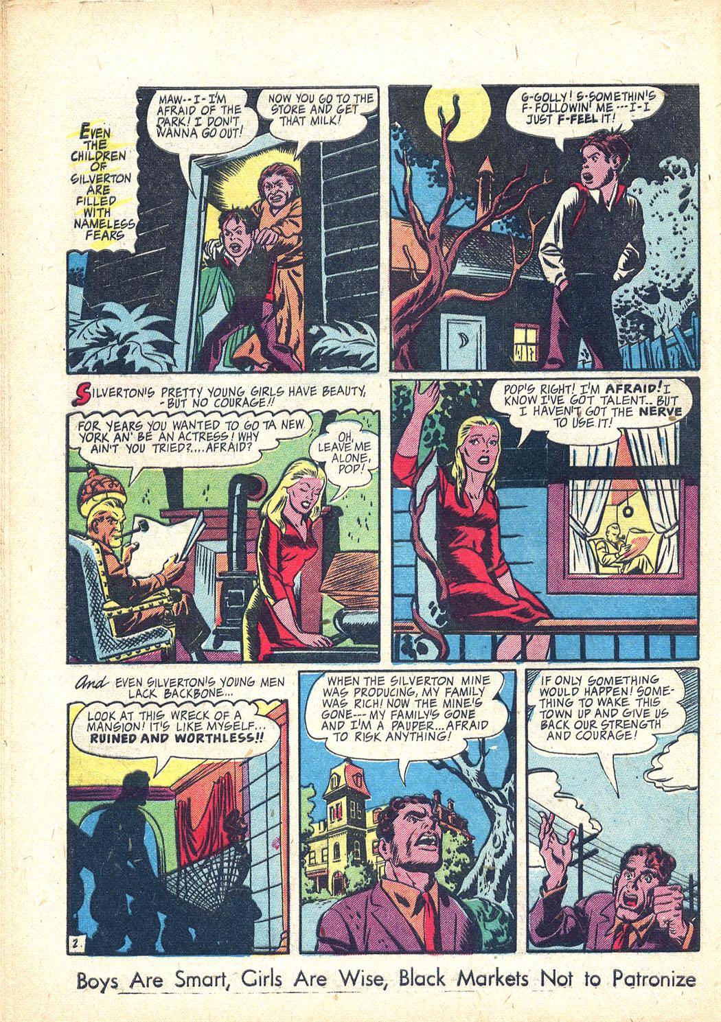 Read online Sensation (Mystery) Comics comic -  Issue #34 - 42