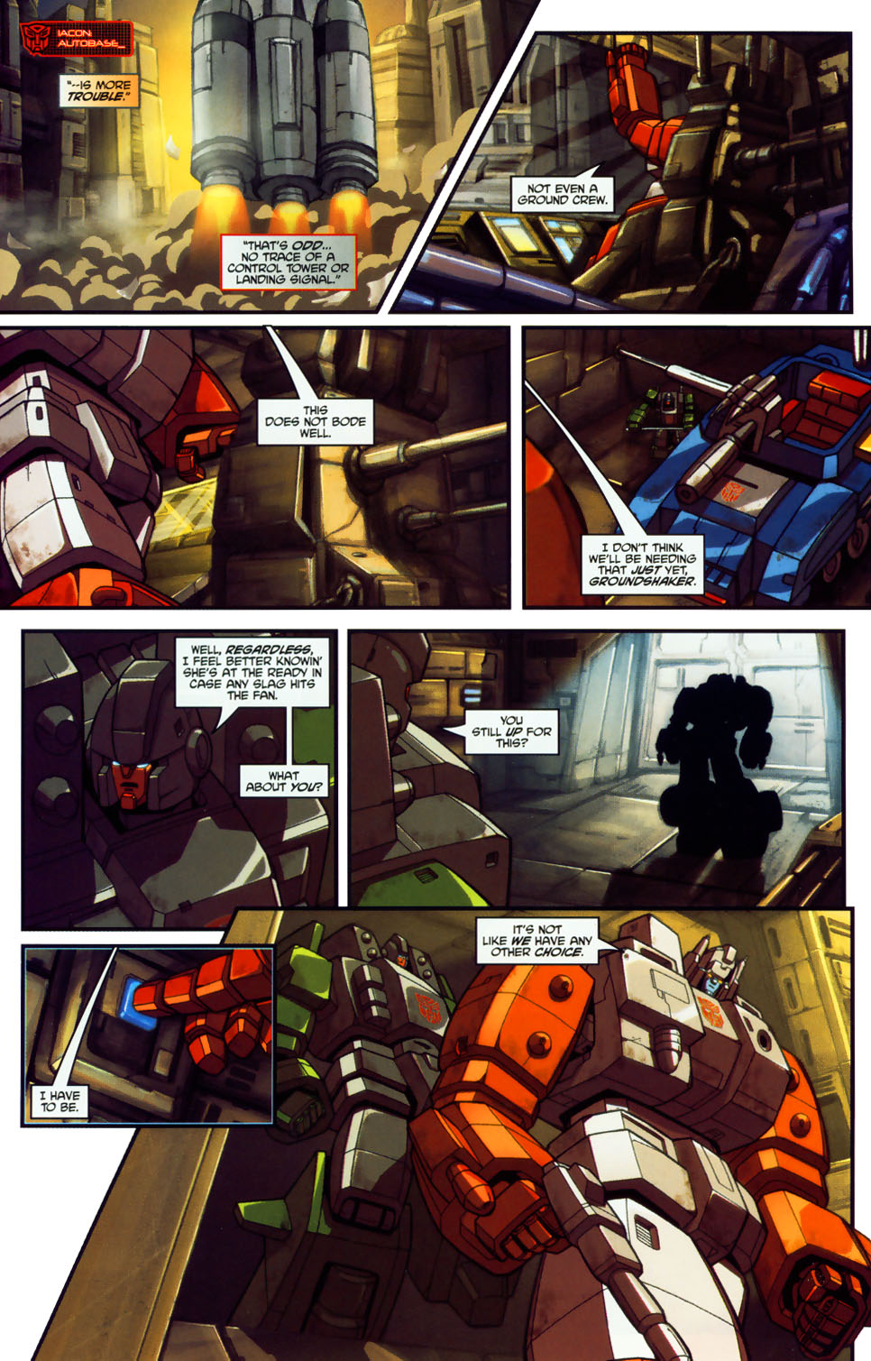 Read online Transformers: Micromasters comic -  Issue #1 - 8