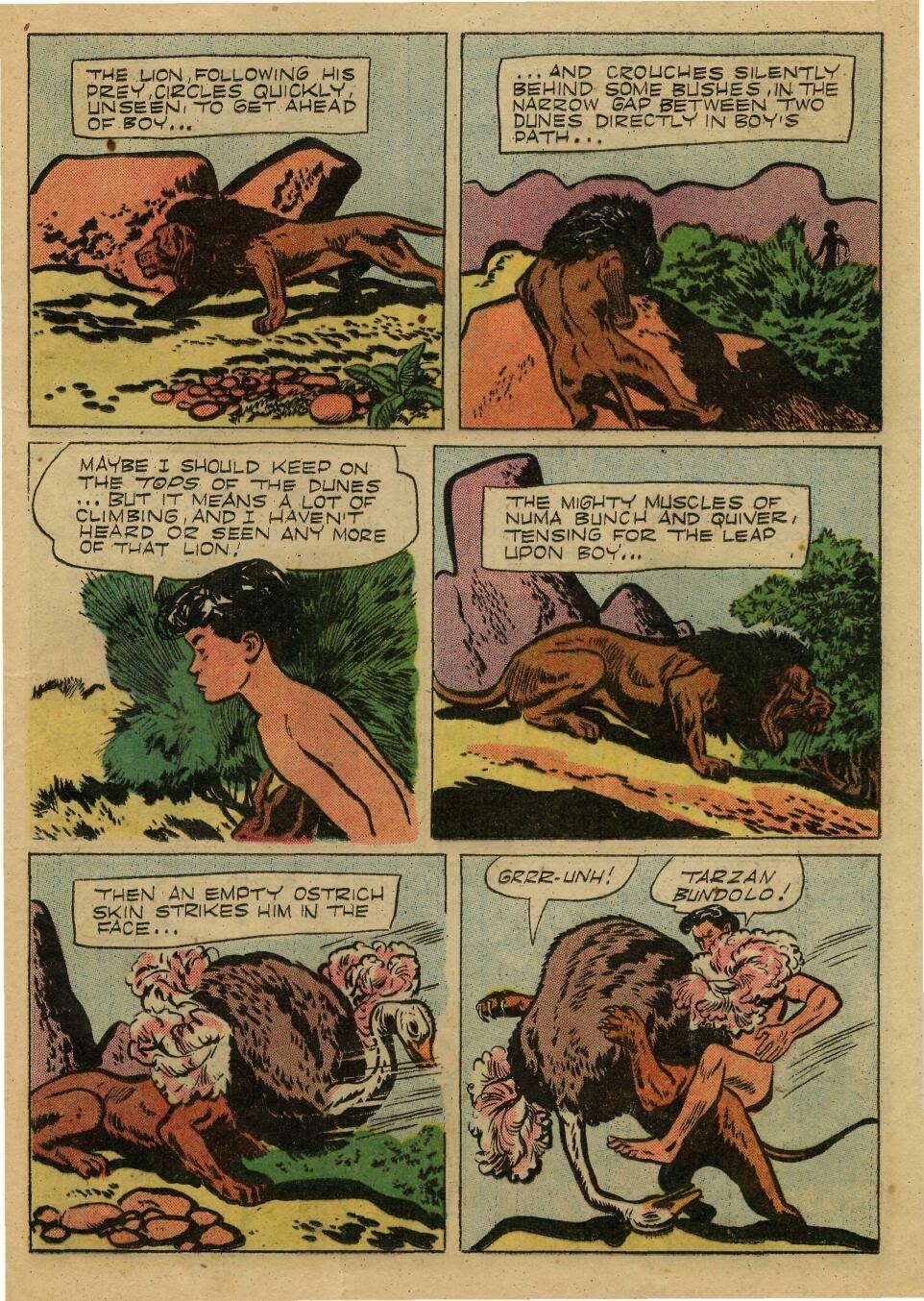 Tarzan (1948) issue 72 - Page 21