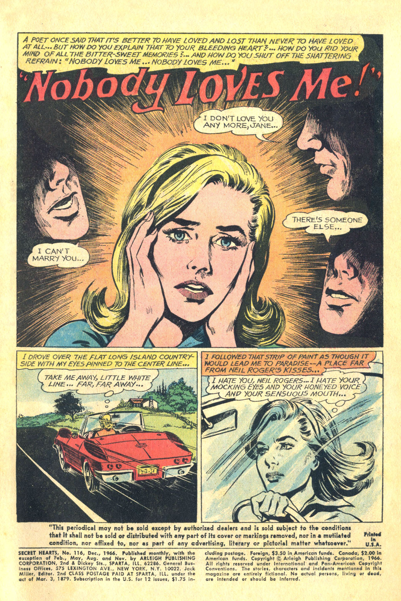 Read online Secret Hearts comic -  Issue #116 - 3