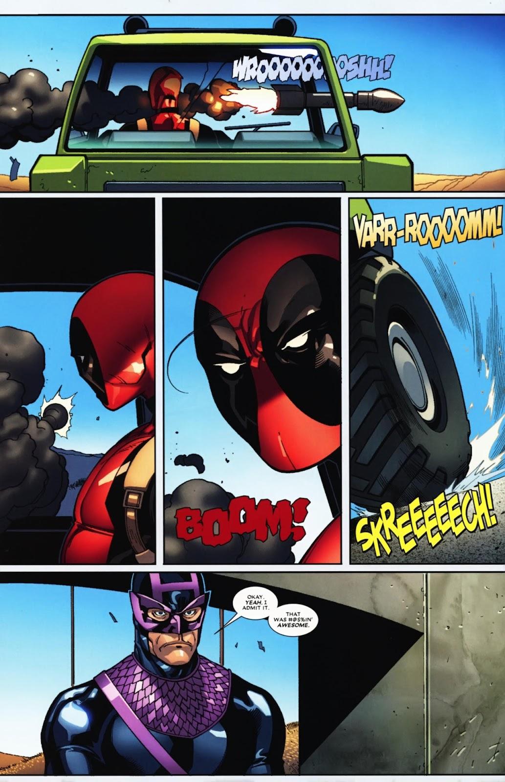 Read online Deadpool (2008) comic -  Issue #12 - 14