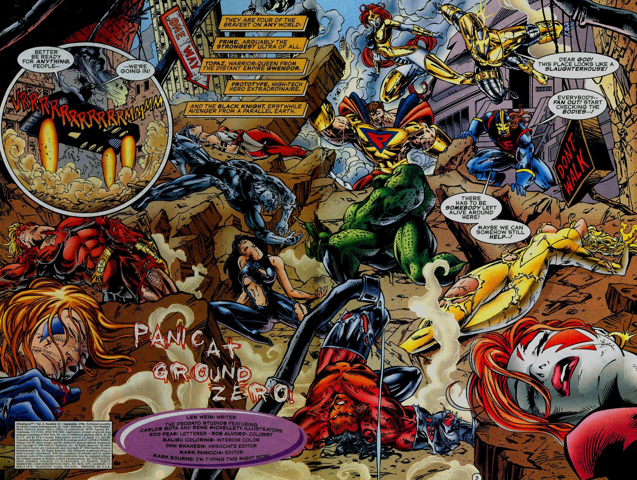 Read online UltraForce (1995) comic -  Issue #12 - 3