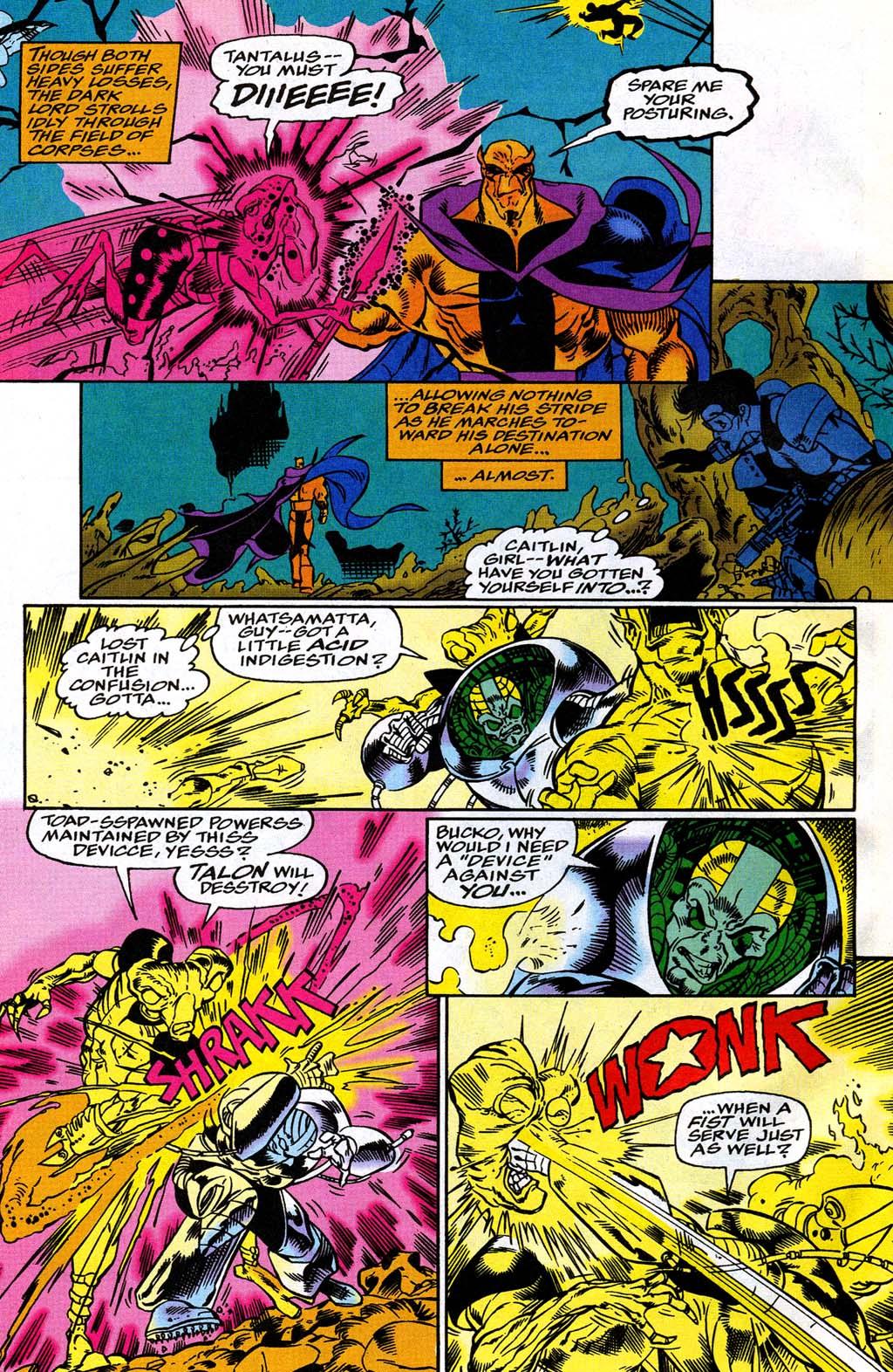 Read online Blackwulf comic -  Issue #8 - 16
