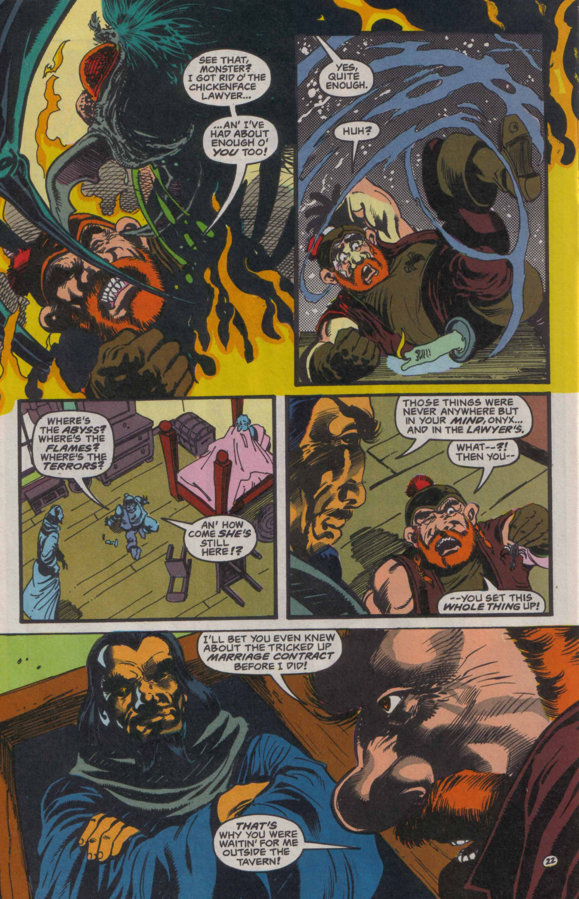 Read online Advanced Dungeons & Dragons comic -  Issue #23 - 23