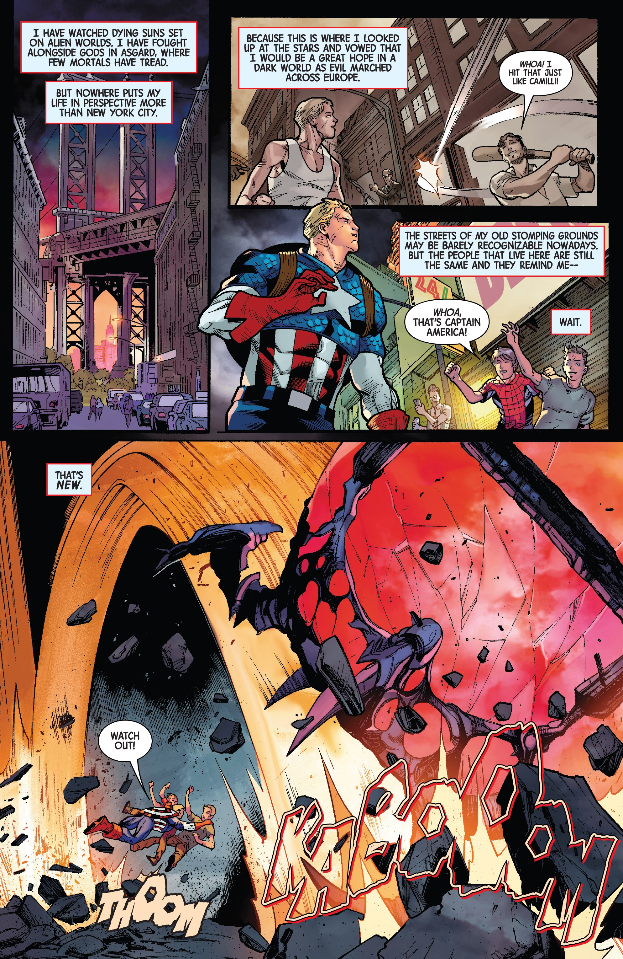 Wolverine & Captain America: Weapon Plus Full Page 2