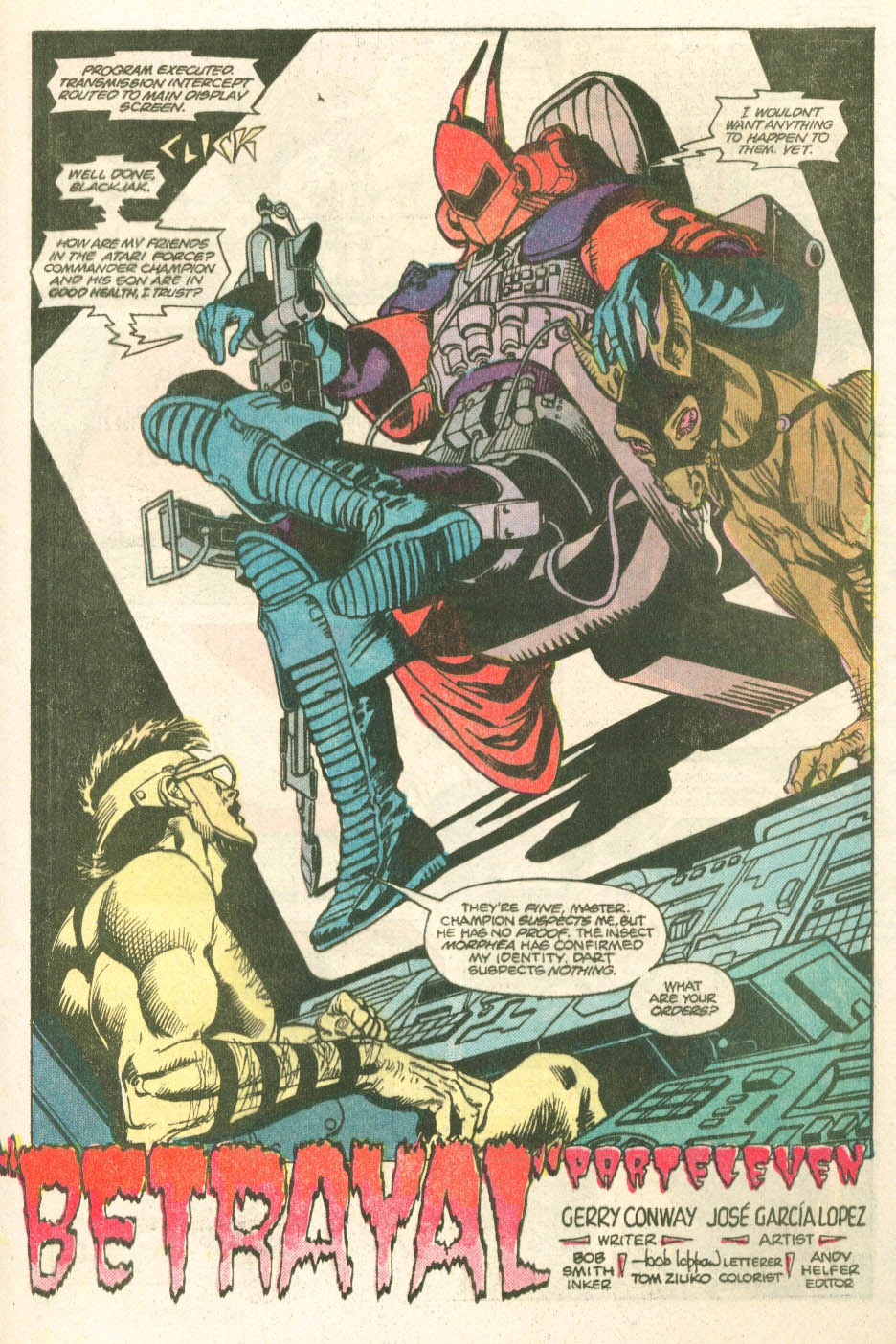 Read online Atari Force (1984) comic -  Issue #11 - 5