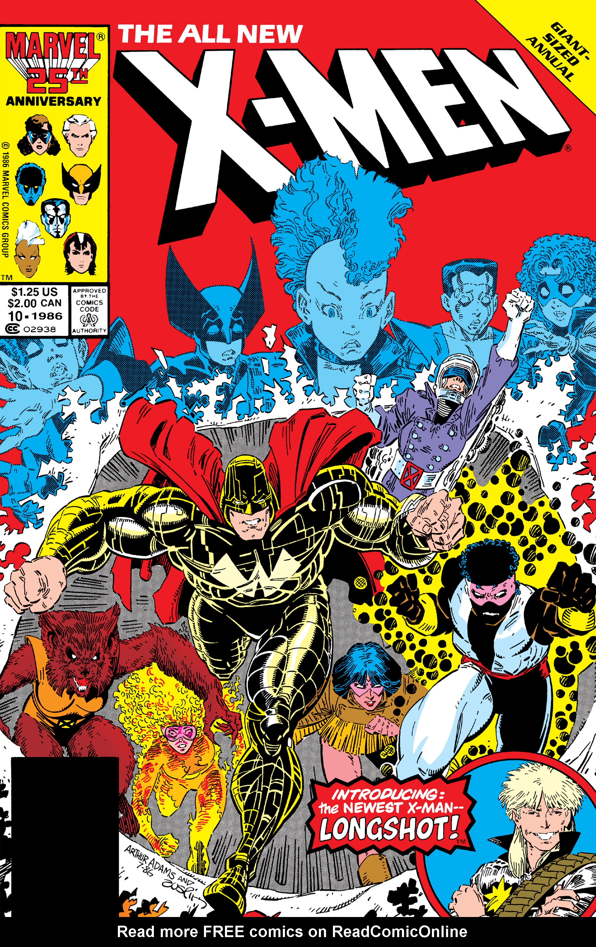 Read online Uncanny X-Men (1963) comic -  Issue # _Annual 10 - 1