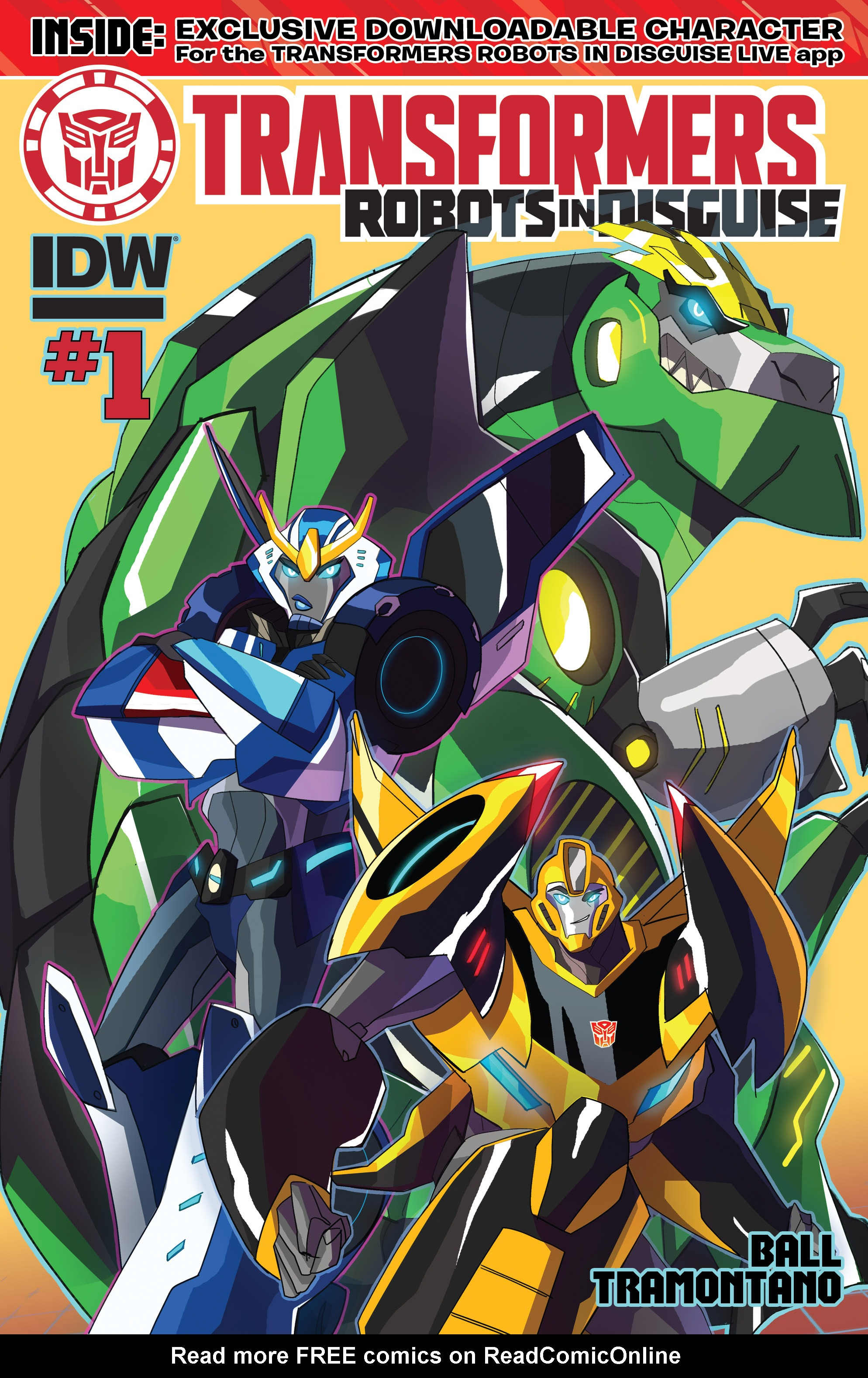 Read online Transformers: Robots In Disguise (2015) comic -  Issue #1 - 1